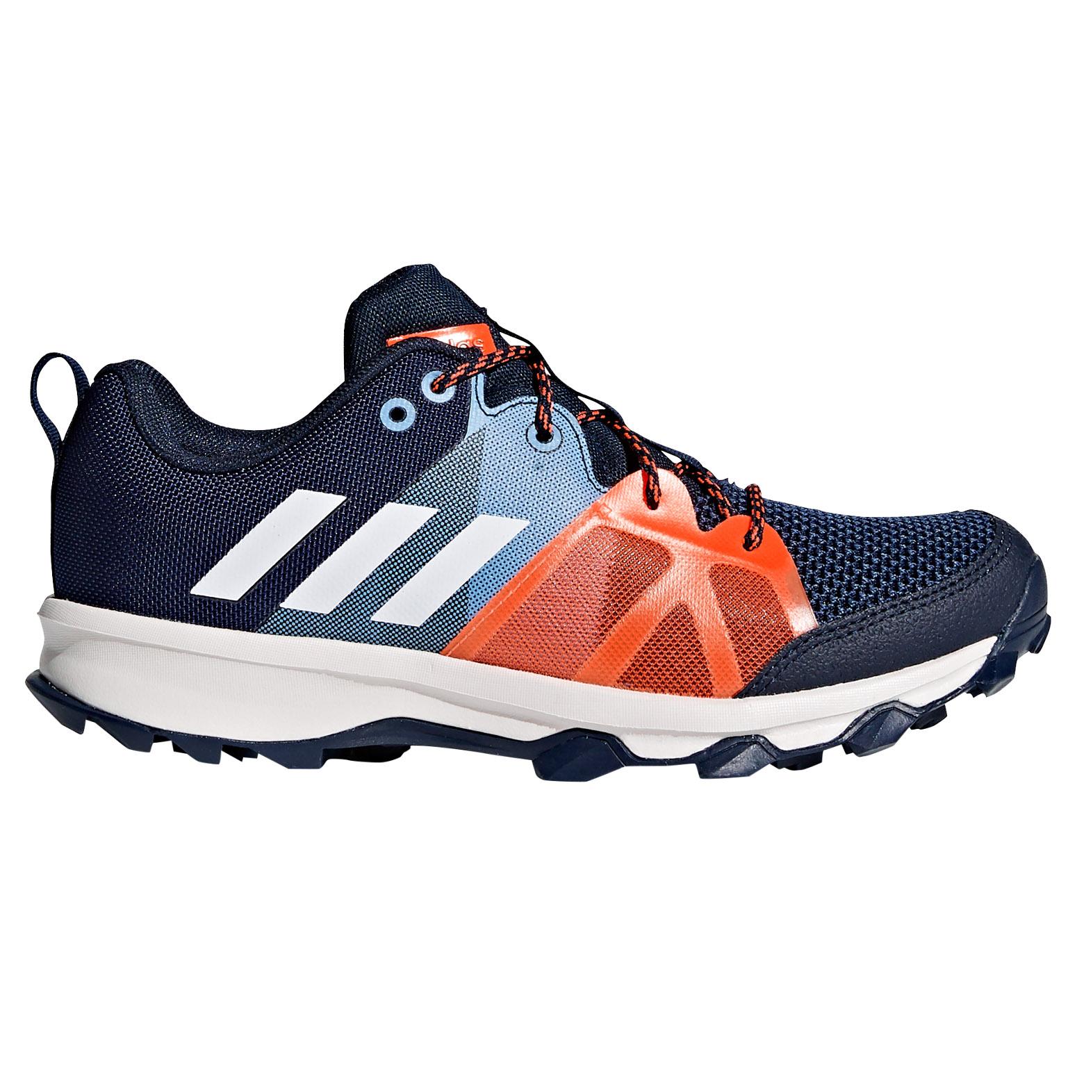 Adidas kanadia Trail kids boys Trainer corriendo Trainer boys zapato azul / naranja 3420ae