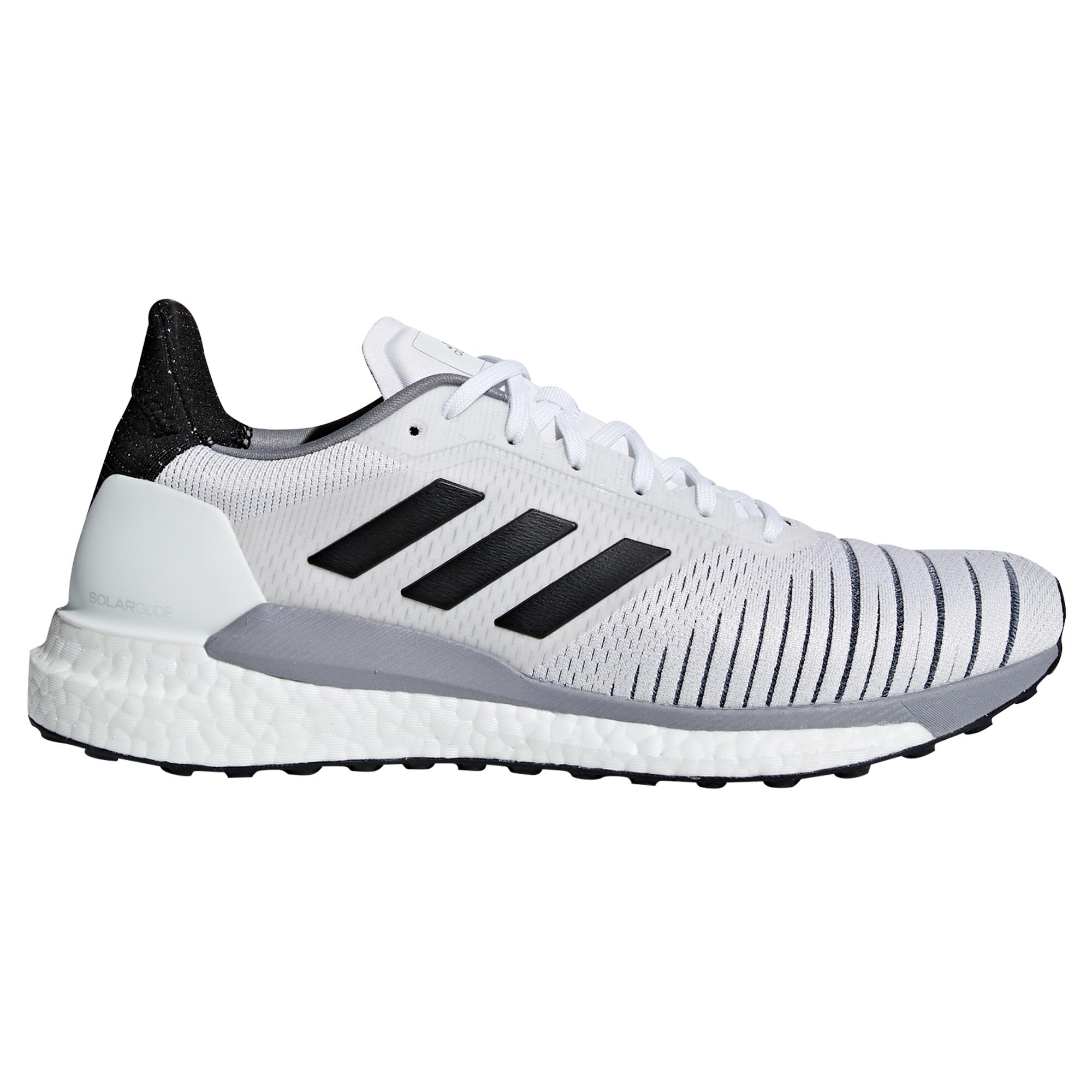 721a2bb05 Solar Glide Mens Running Trainer shoes White Adidas Fitness ...