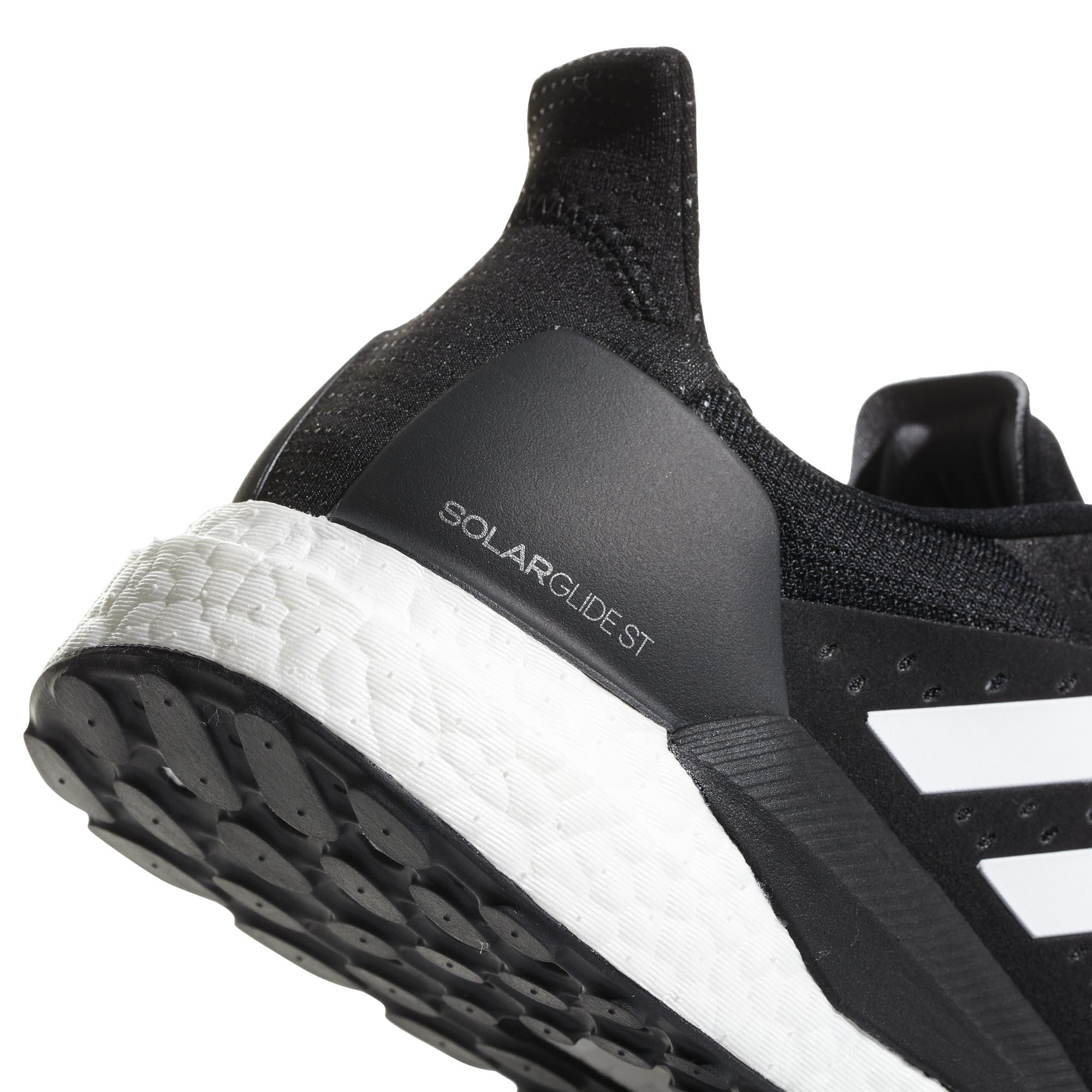 structurée St homme noir blanc course Chaussure pour de Adidas Solar Glide ESOaY