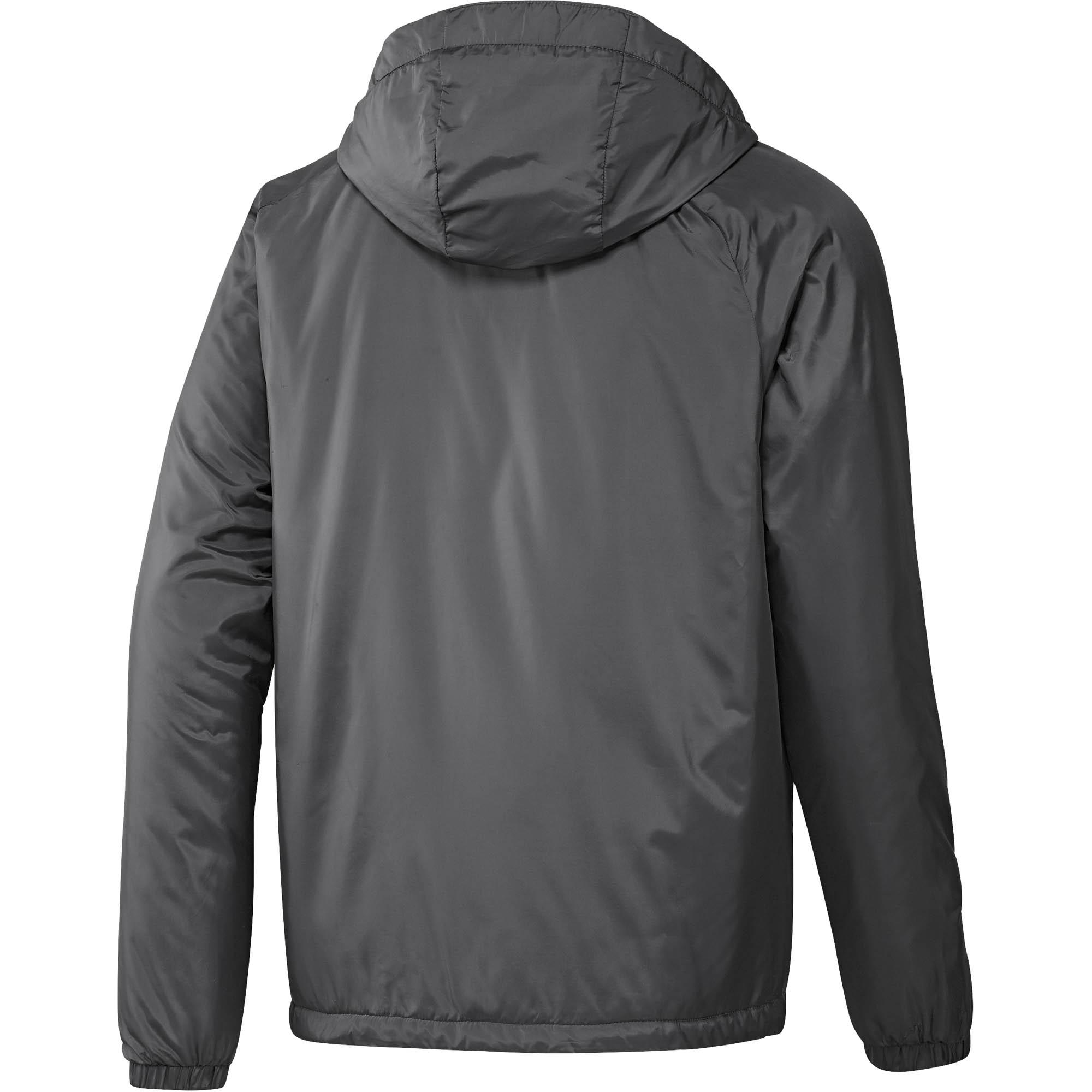 9b4104bc4 adidas Cytins Mens Padded Fleece Lined Mens Winter Coat Jacket Grey ...
