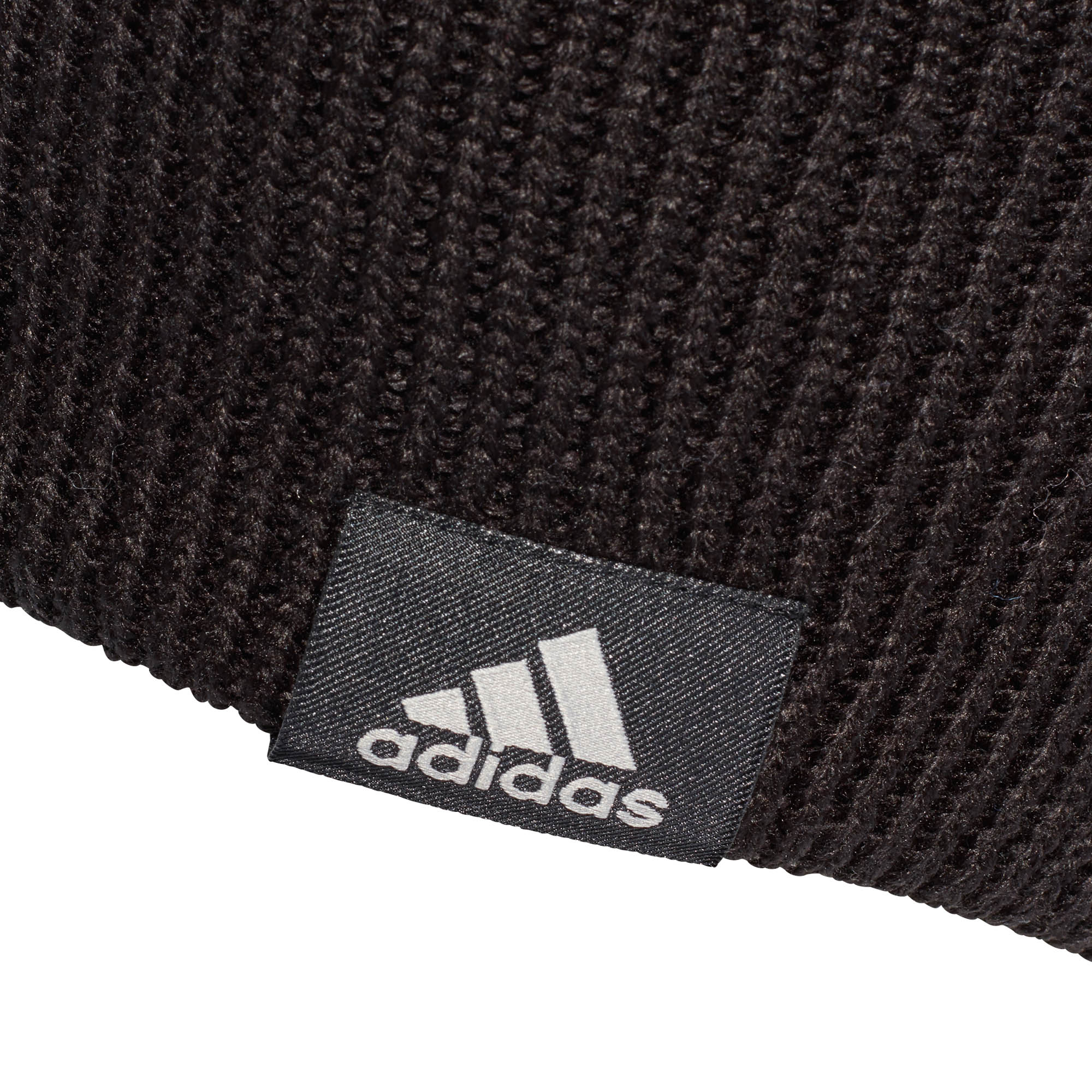 super popular 53cf5 9d0a8 adidas Performance Mens Kids Knitted Woolie Beanie Hat Black