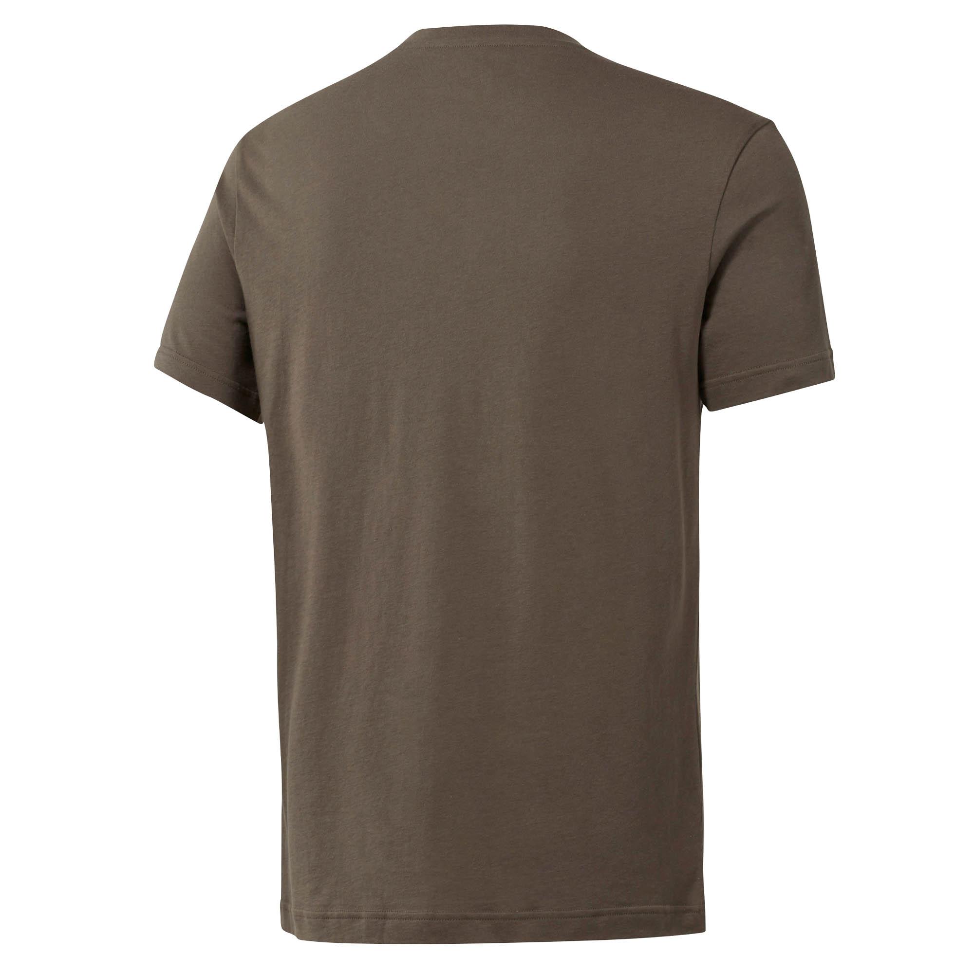 Reebok-UFC-MMA-Logo-Mens-Training-Fitness-Fight-T-Shirt-Tee-Khaki thumbnail 4