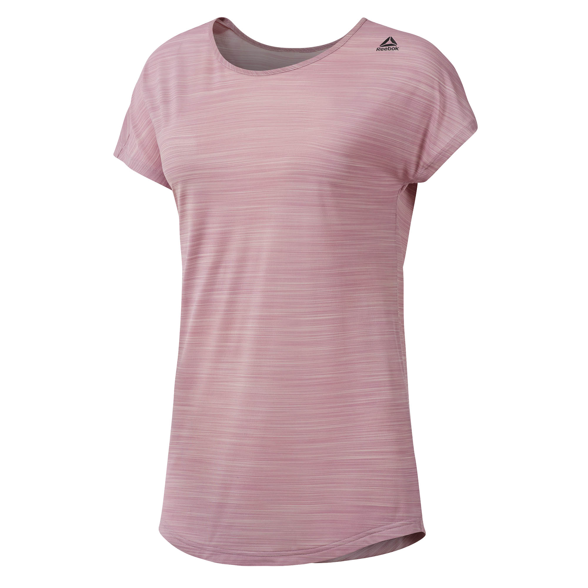 a5a9643405be5f Entrenamiento de Reebok listo ACTIVChill mujeres damas Fitness Camiseta Tee  rosa