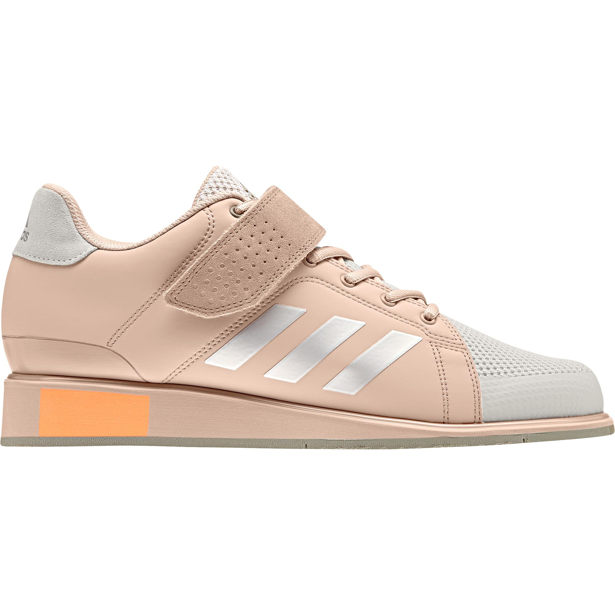 6b51103c43ef Details about adidas Power Perfect III Womens Adult Weightlifting Powerlifting  Shoe Pink/Pearl