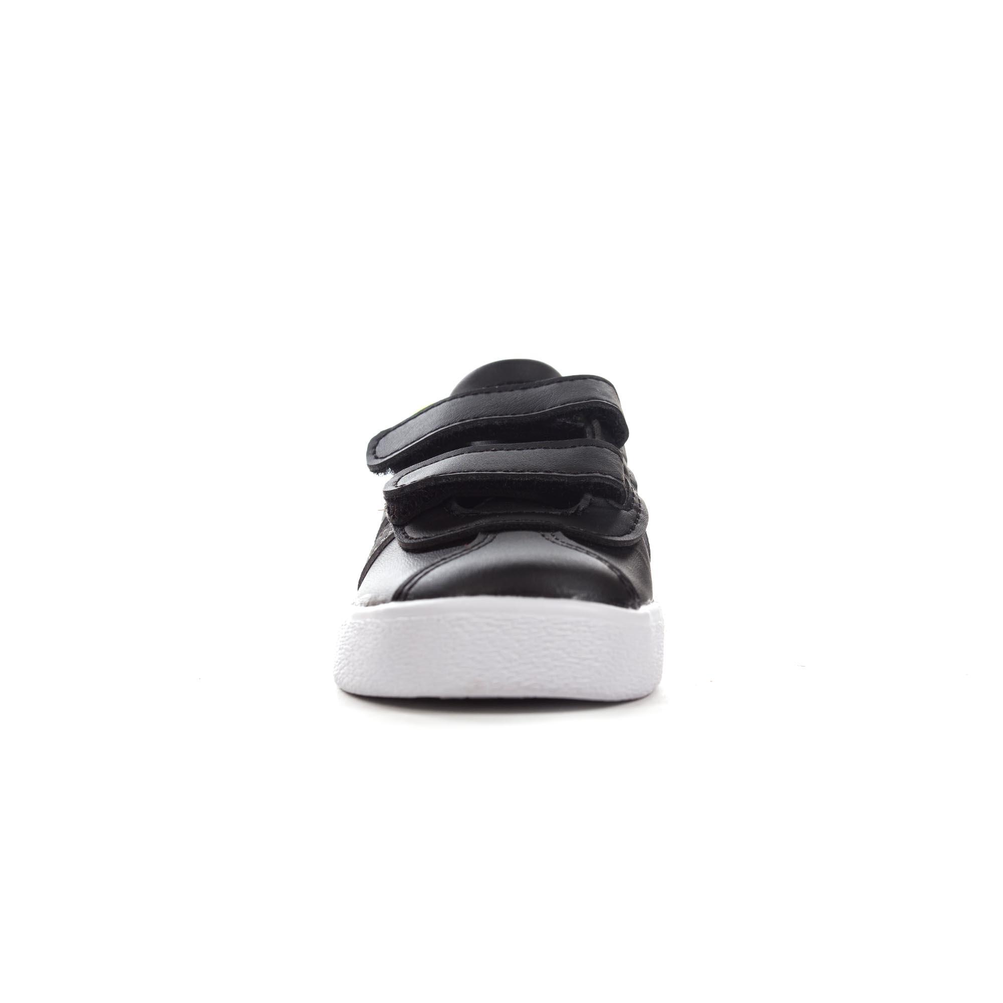 449cd3d5b3dc adidas VL Court 2.0 Infant Kids Boys Sports Trainer Shoe Black White ...
