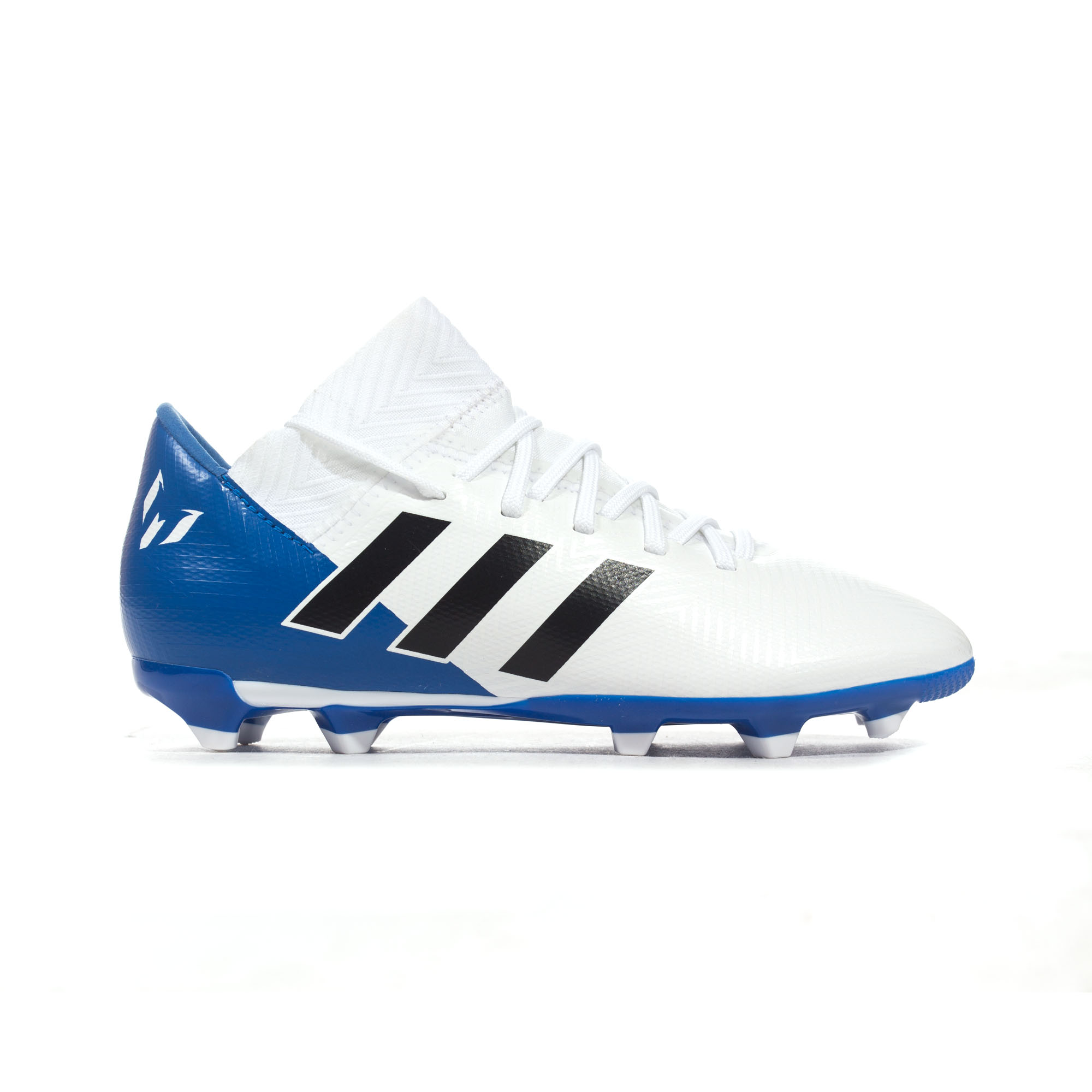 premium selection 274ae 65f4a Details about adidas Nemeziz Messi 18.3 FG Firm Ground Kids Football Soccer  Boot Team Mode