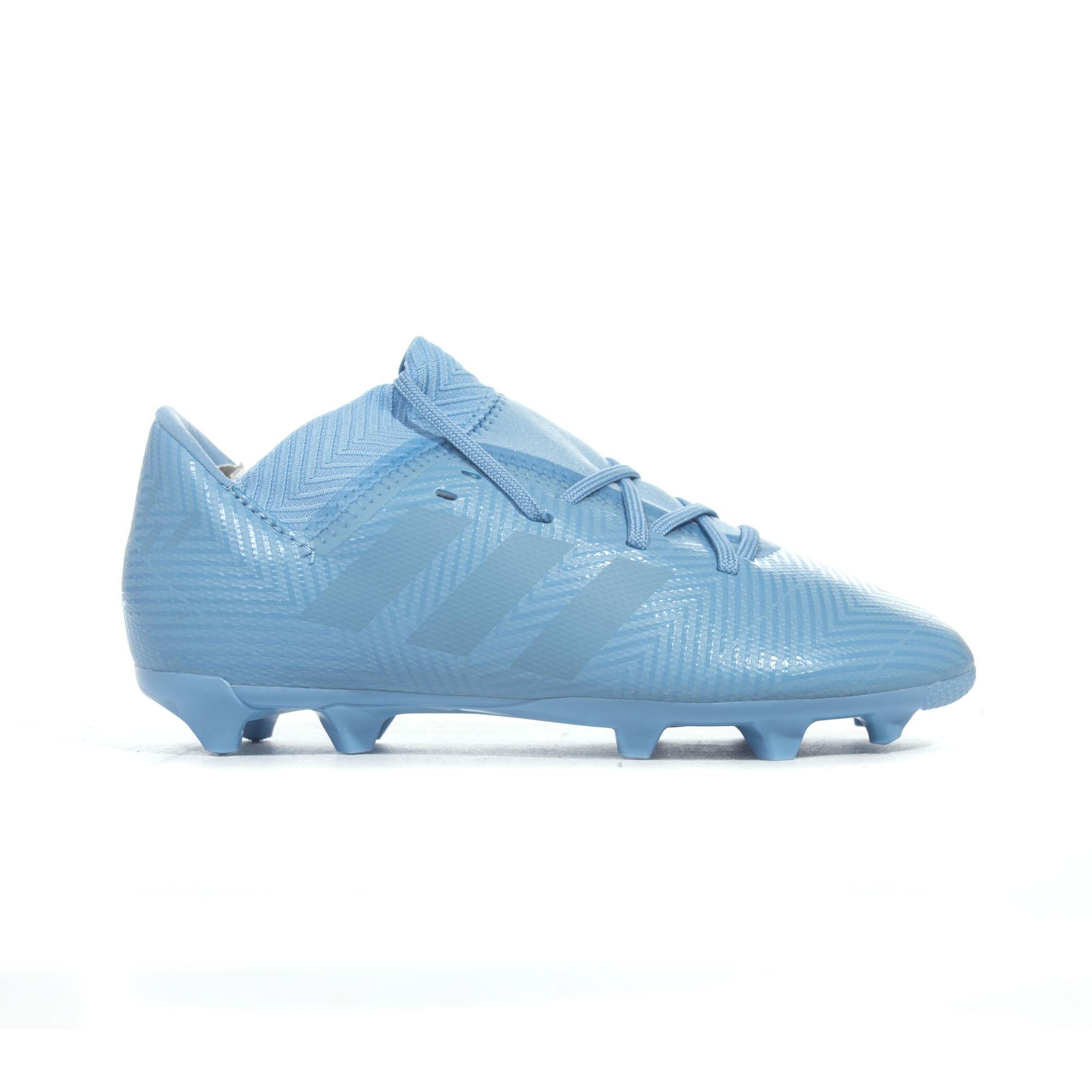 the latest 1f2d4 285a5 Details about adidas Nemeziz Messi 18.3 FG Firm Ground Kids Football Soccer  Boot Spectral Mode