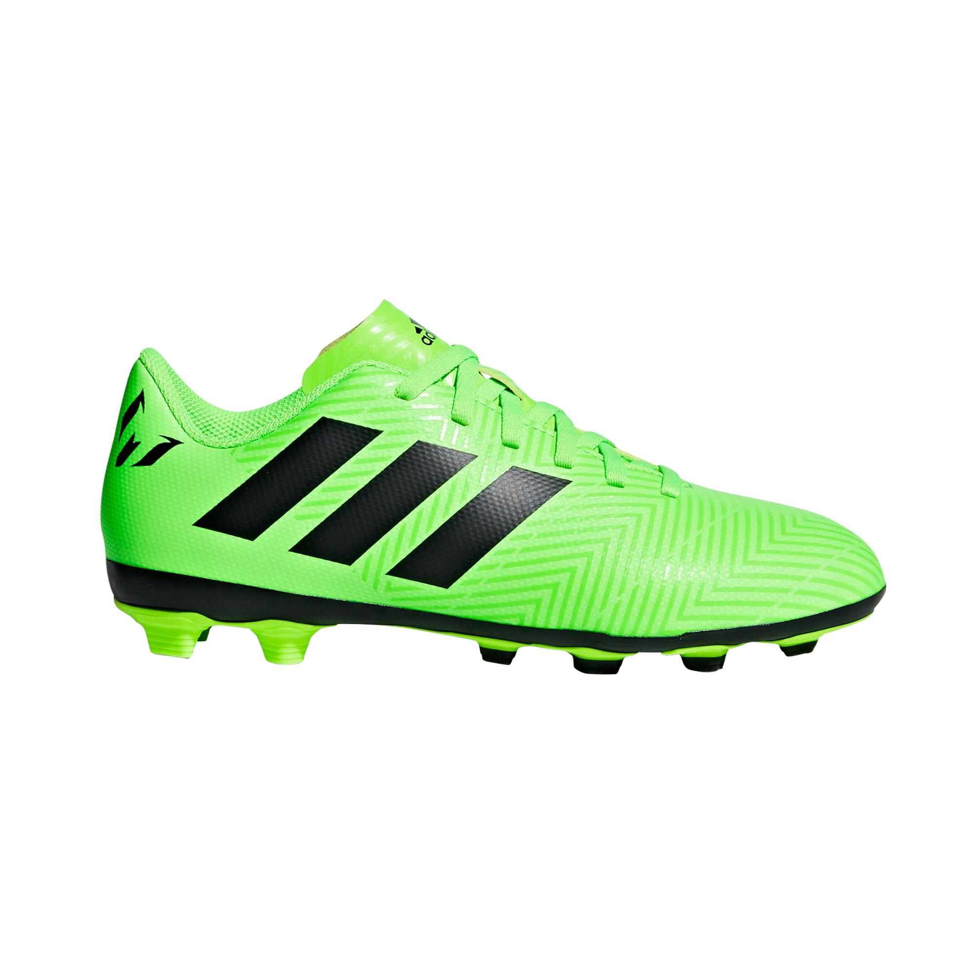 adidas Nemeziz Messi 18.4 FG Firm Ground Kids Football Soccer Boot Energy  Mode 1877c4ef59a97