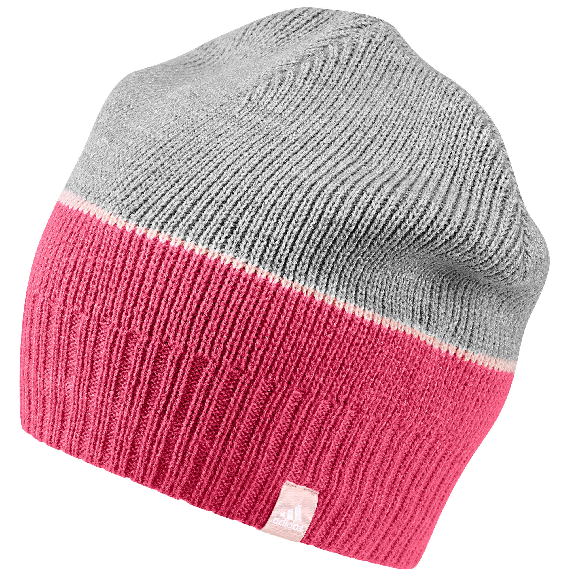 Adidas Mütze pink grau