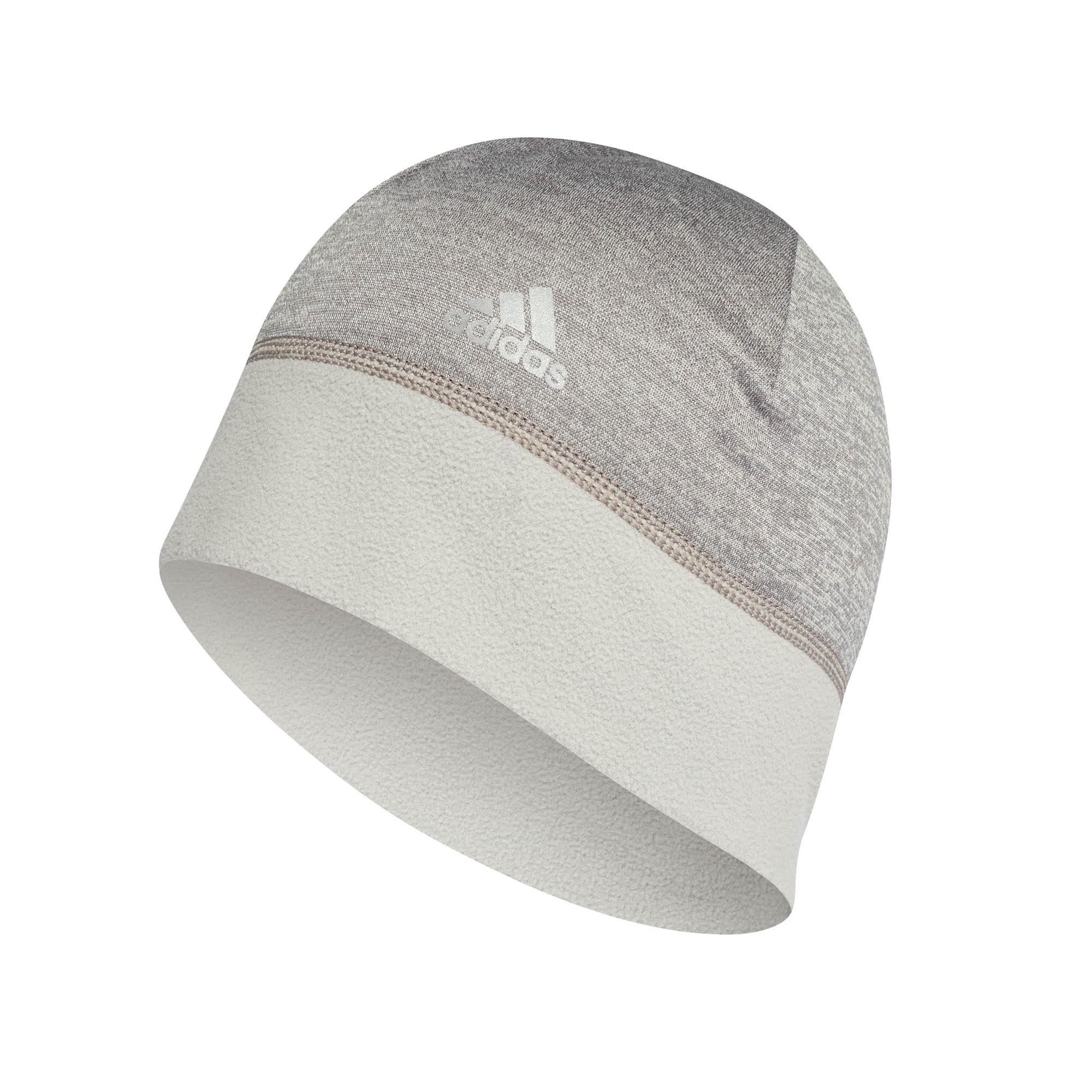 Adidas Climawarm Sport Running Training Fleece Mens Beanie cappello grigio 3c181ee78d73