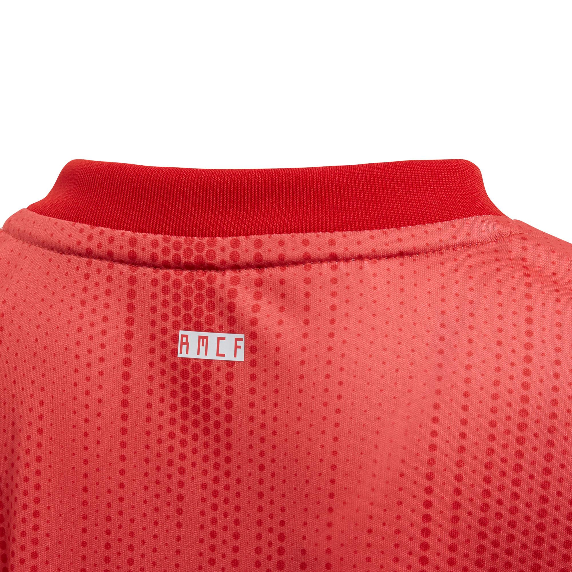Adidas Real Madrid 2018 19 niños Mini tercer fútbol fútbol Kit Conjunto  Coral c1596802780
