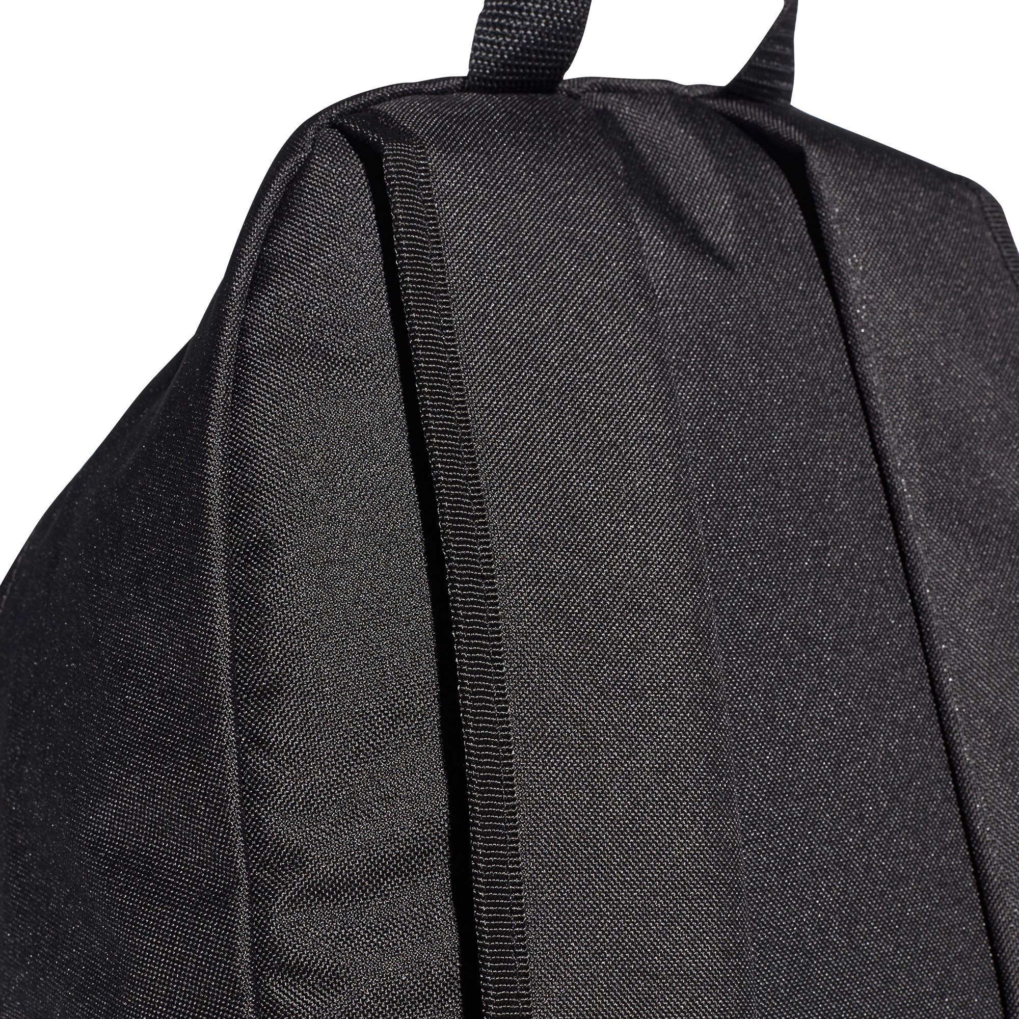 713a97ff6 adidas Linear Core Backpack Rucksack School Sports Bag Black/White ...