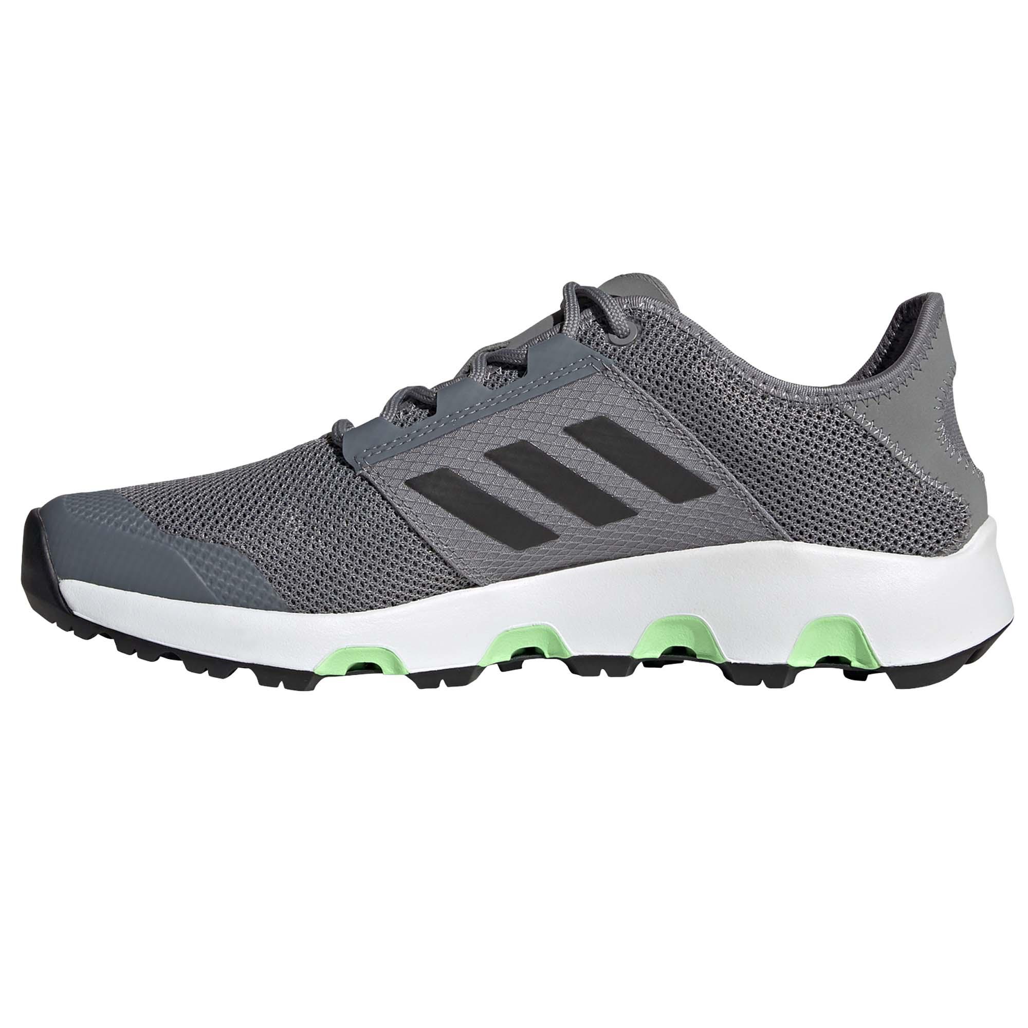 miniature 8 - Adidas Terrex Voyager Homme Trail Running Baskets Chaussures Gris/Noir/Vert