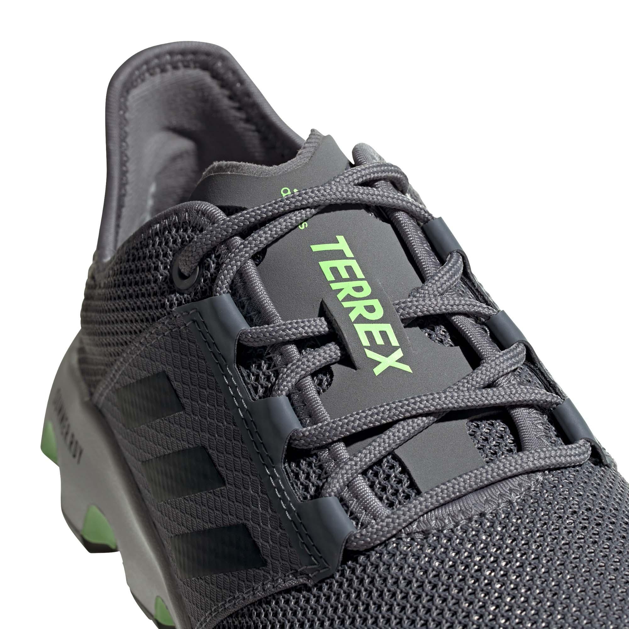miniature 9 - Adidas Terrex Voyager Homme Trail Running Baskets Chaussures Gris/Noir/Vert