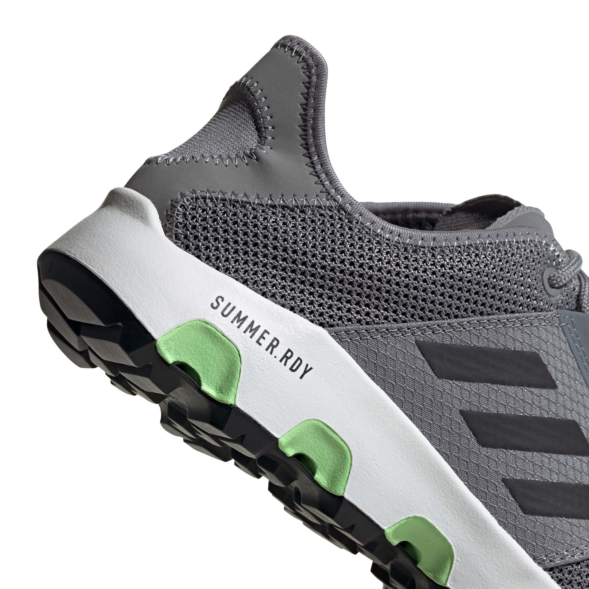 miniature 10 - Adidas Terrex Voyager Homme Trail Running Baskets Chaussures Gris/Noir/Vert