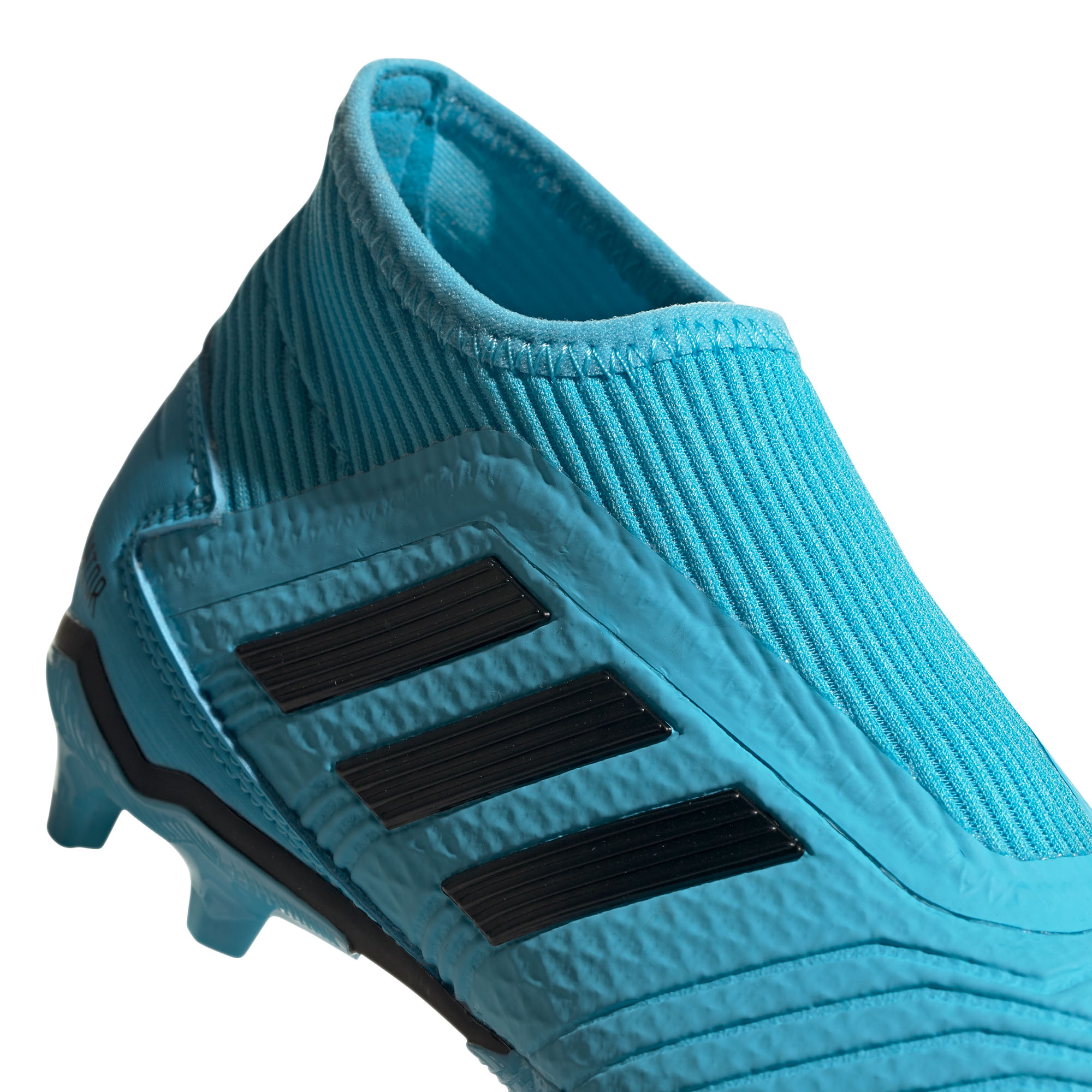 Details about adidas Predator 19.3 Laceless FG Firm Ground Kids Football Boot CyanBlack