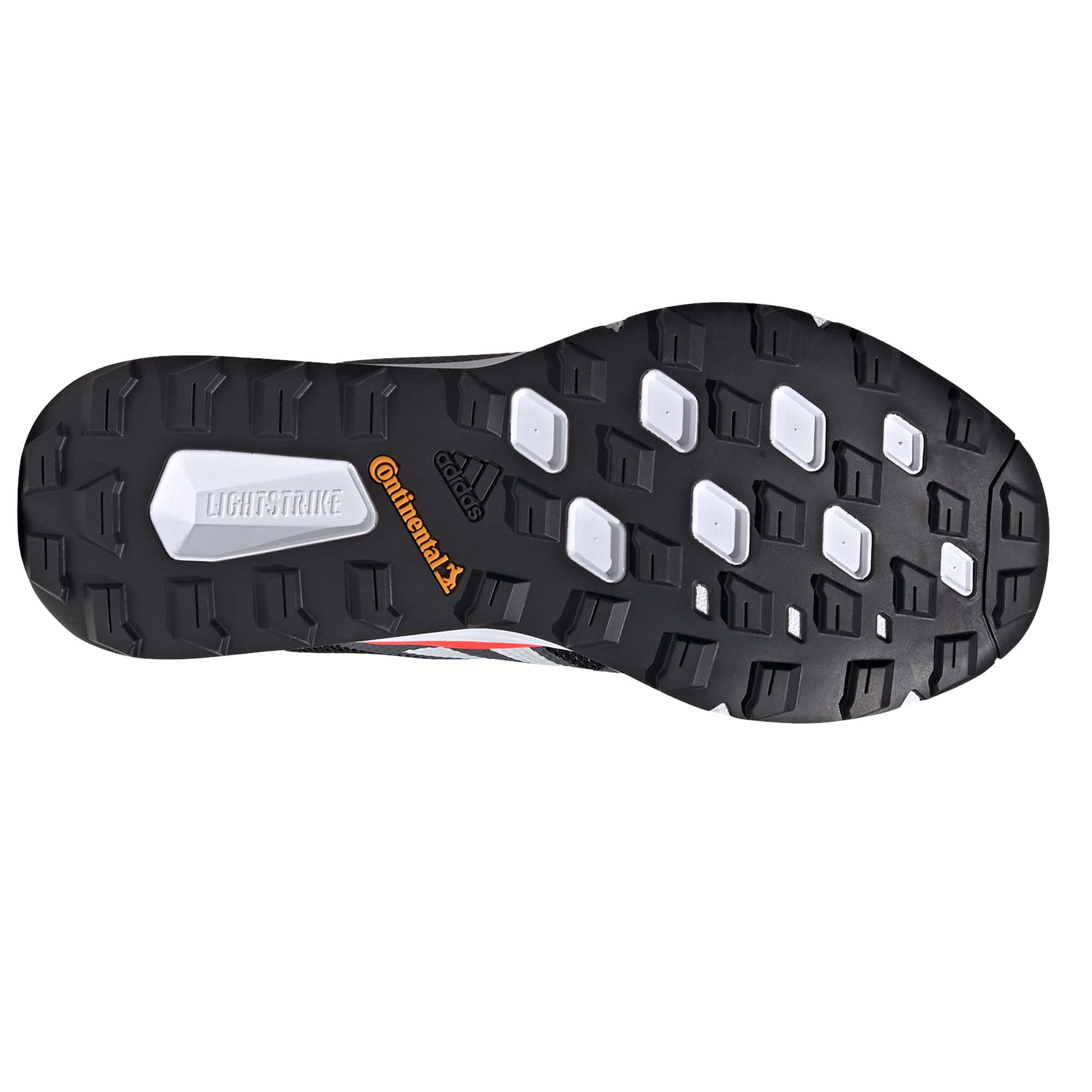 miniatura 7 - ADIDAS Terrex Due Da Uomo Scarpa Trail Running Scarpe da ginnastica nero/bianco/rosso