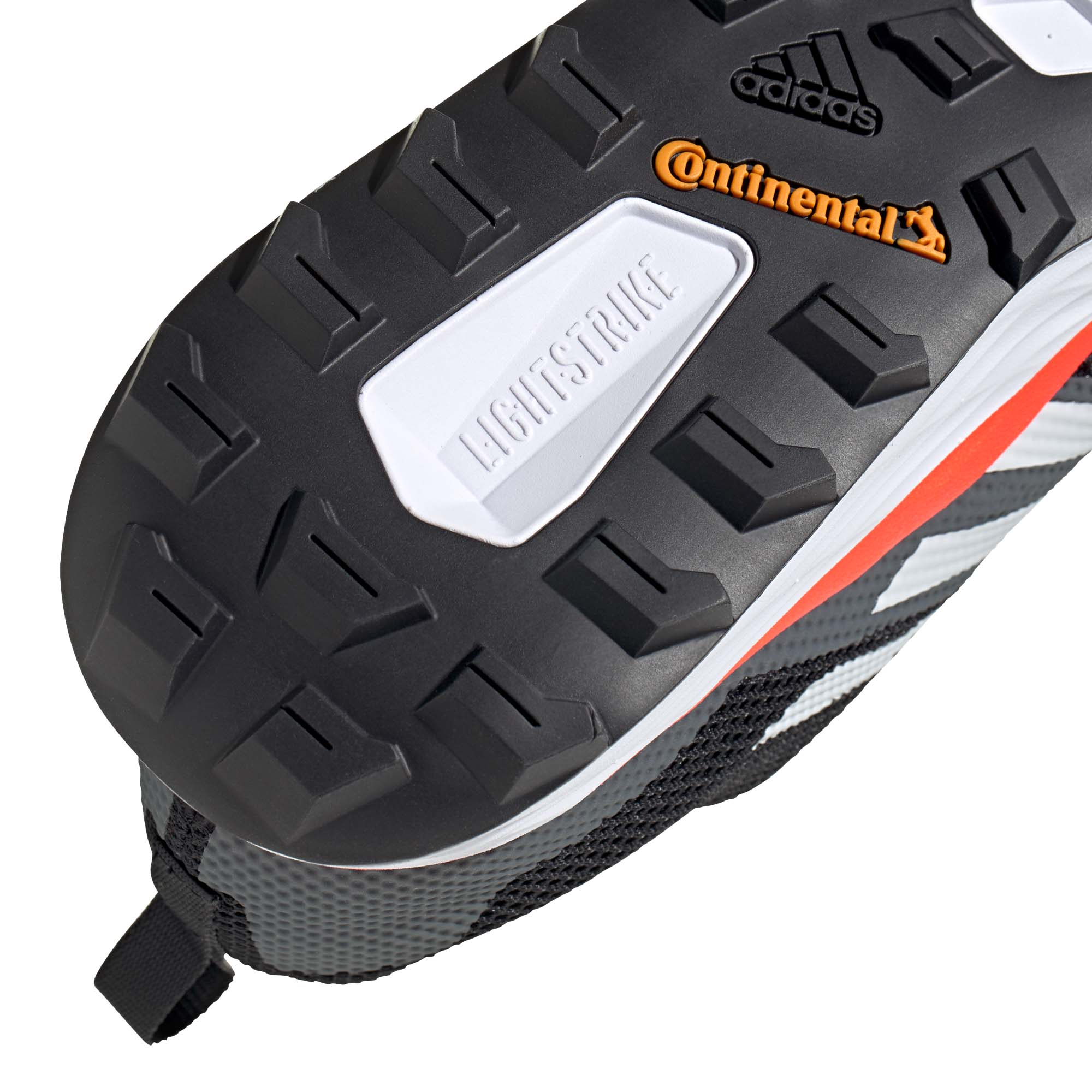 miniatura 10 - ADIDAS Terrex Due Da Uomo Scarpa Trail Running Scarpe da ginnastica nero/bianco/rosso