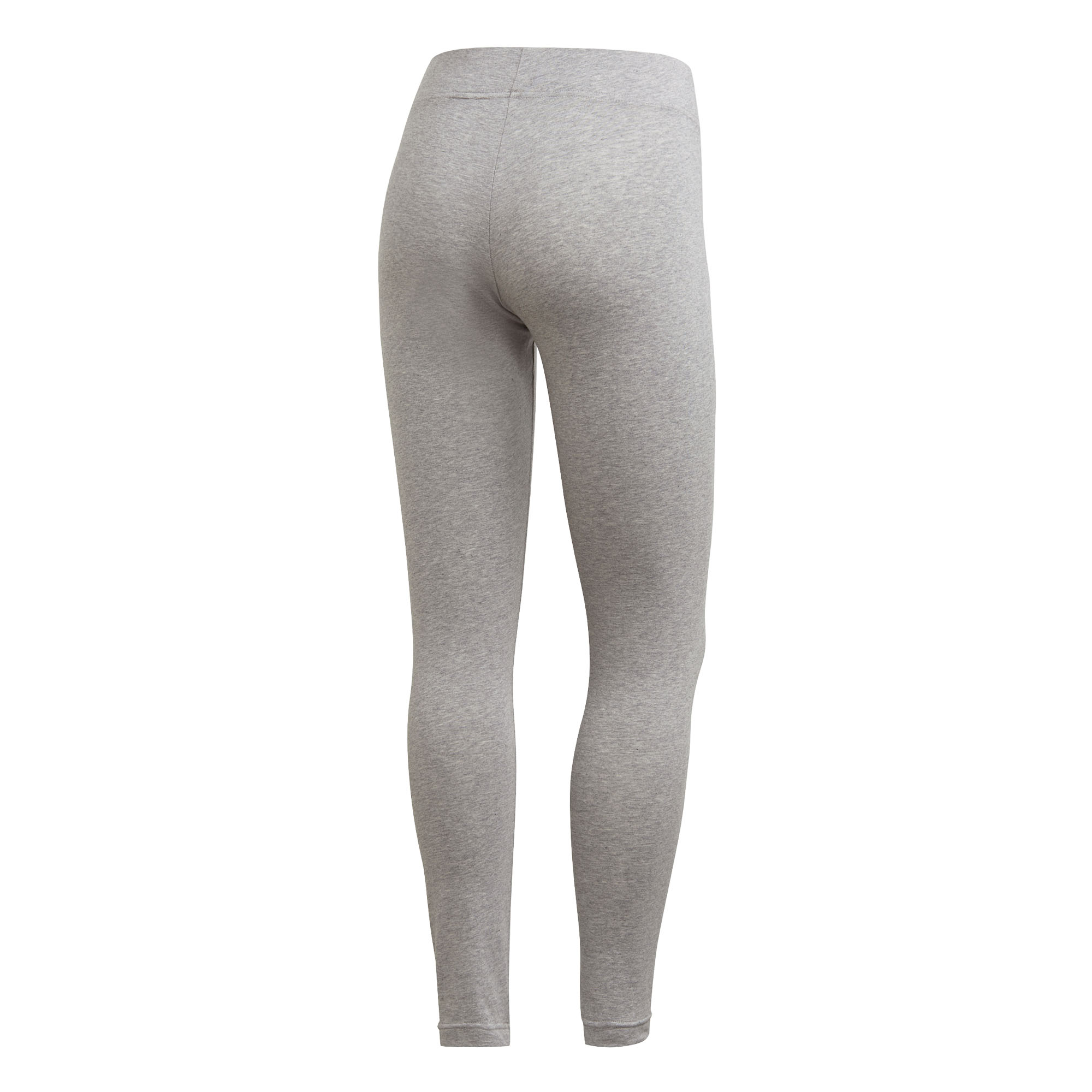 adidas-Essentials-Linear-Womens-Ladies-Fitness-Gym-Legging-Grey-Pink thumbnail 4