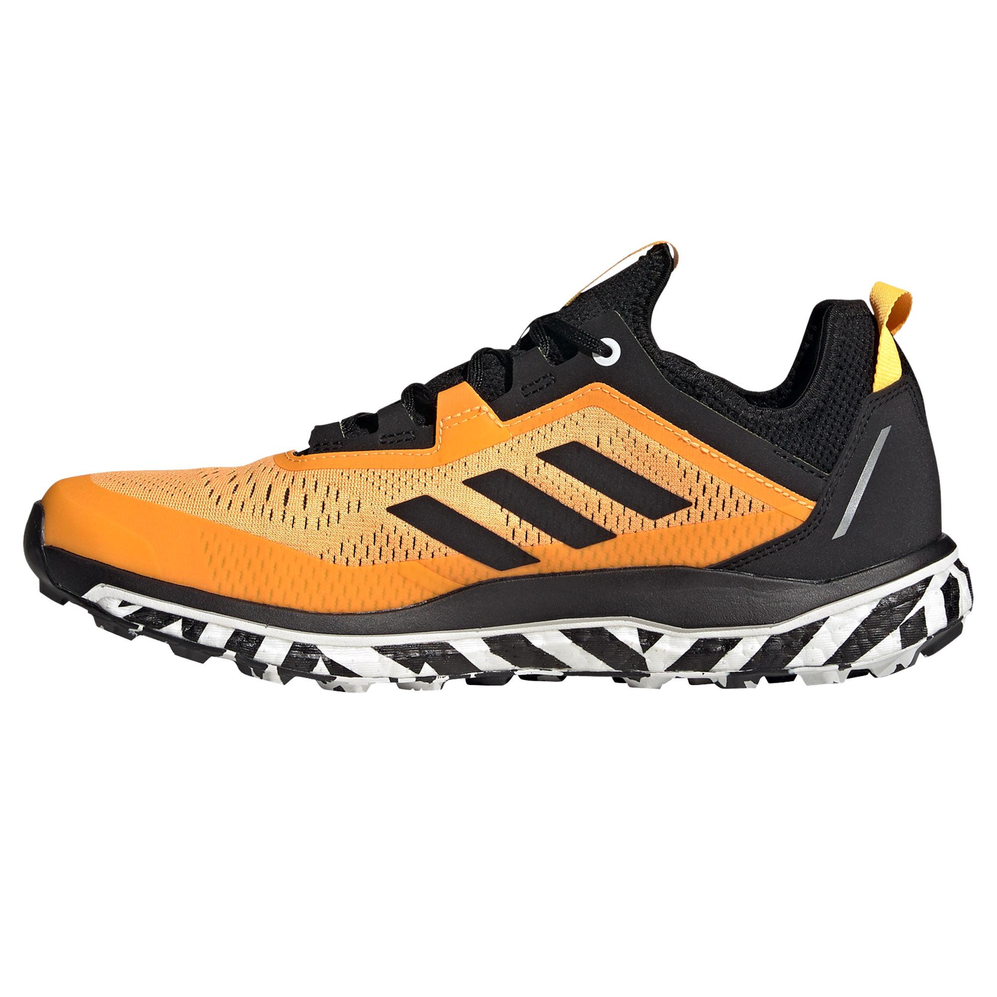 miniatura 8 - ADIDAS Terrex di Flusso Da Uomo Scarpa Trail Running Scarpe da ginnastica Arancione/Nero