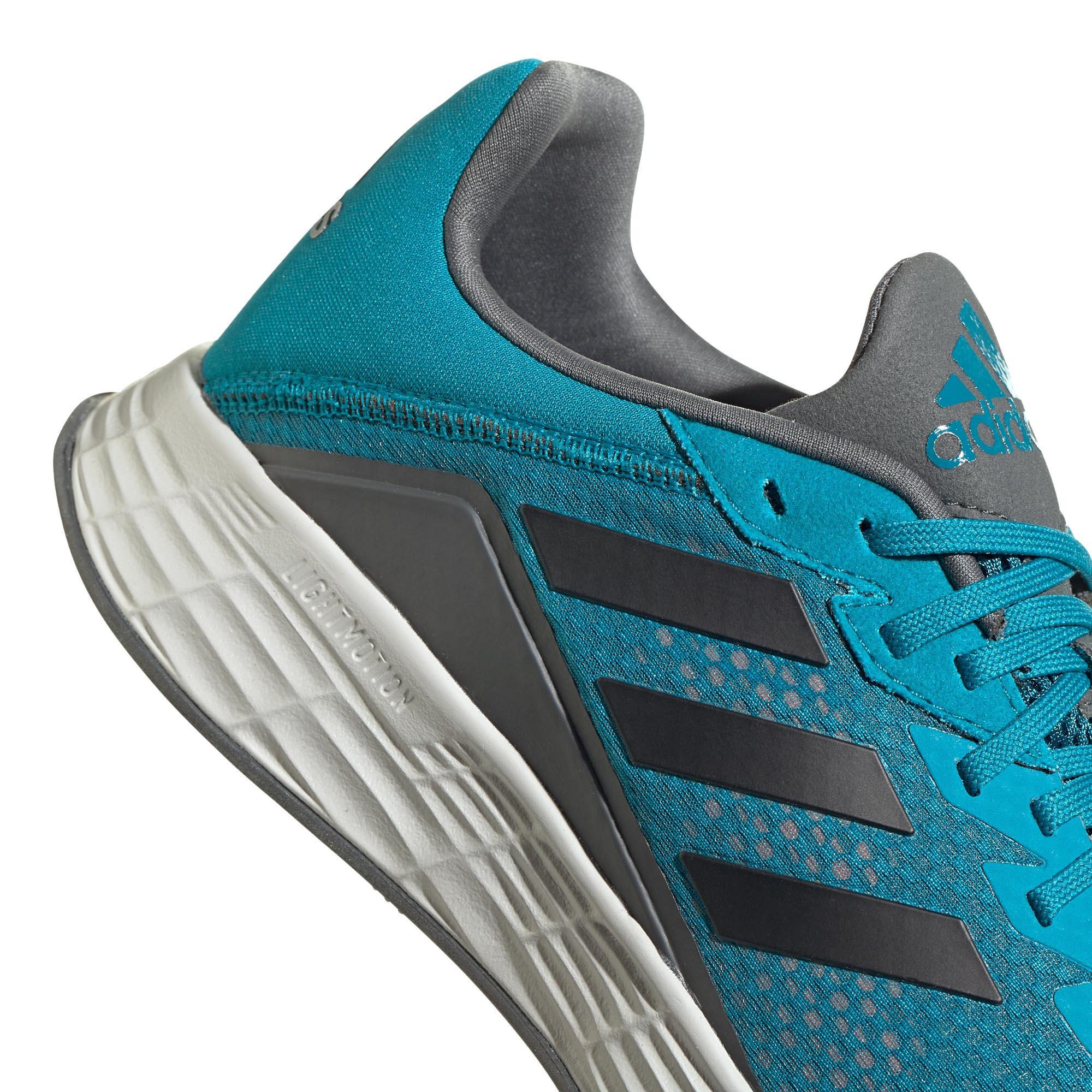 miniature 9 - Adidas Duramo SL Homme Running Fitness Sneaker Chaussure Bleu/Noir
