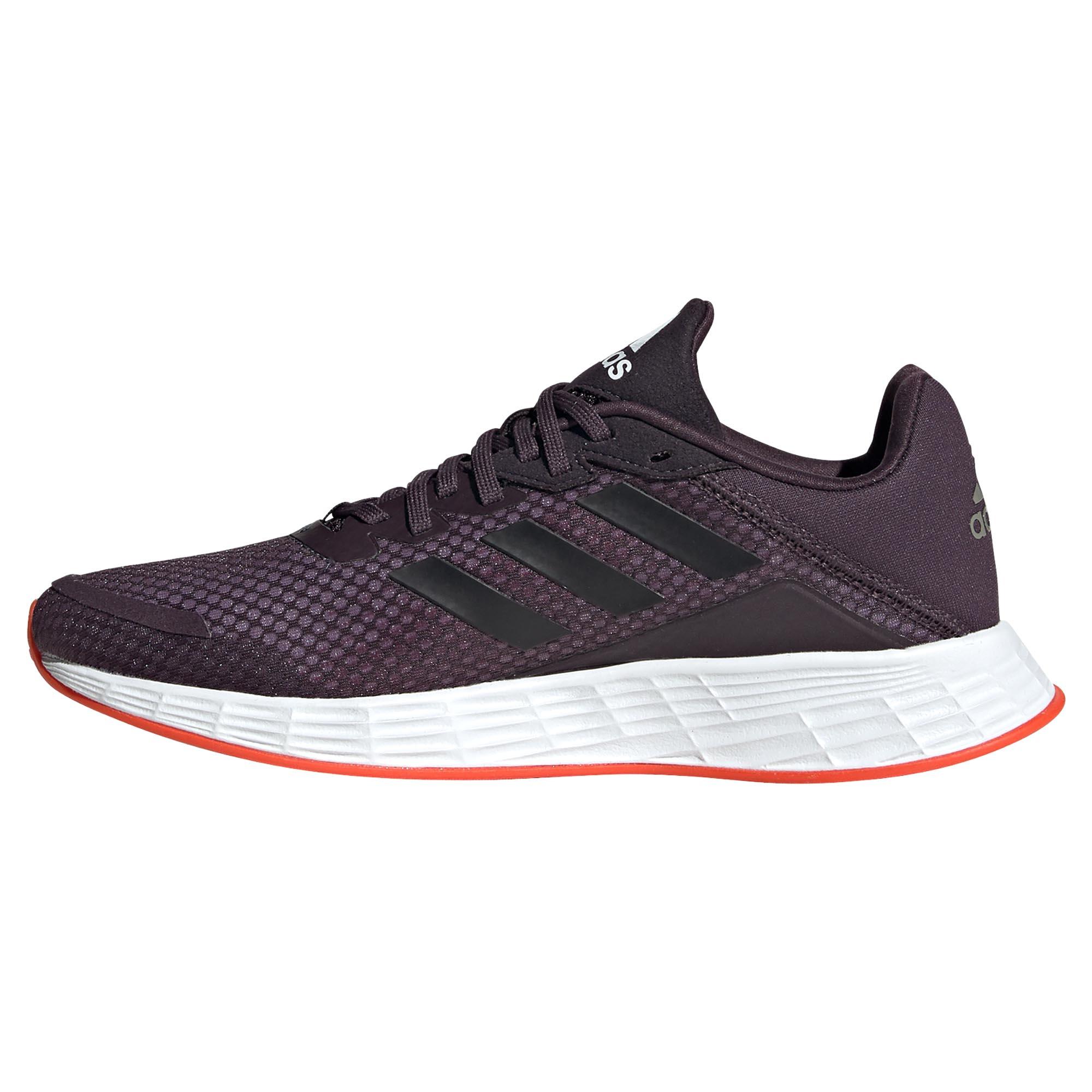 miniature 8 - Adidas Duramo SL Femme Running Fitness Sneaker Chaussure Violet/Noir/Blanc