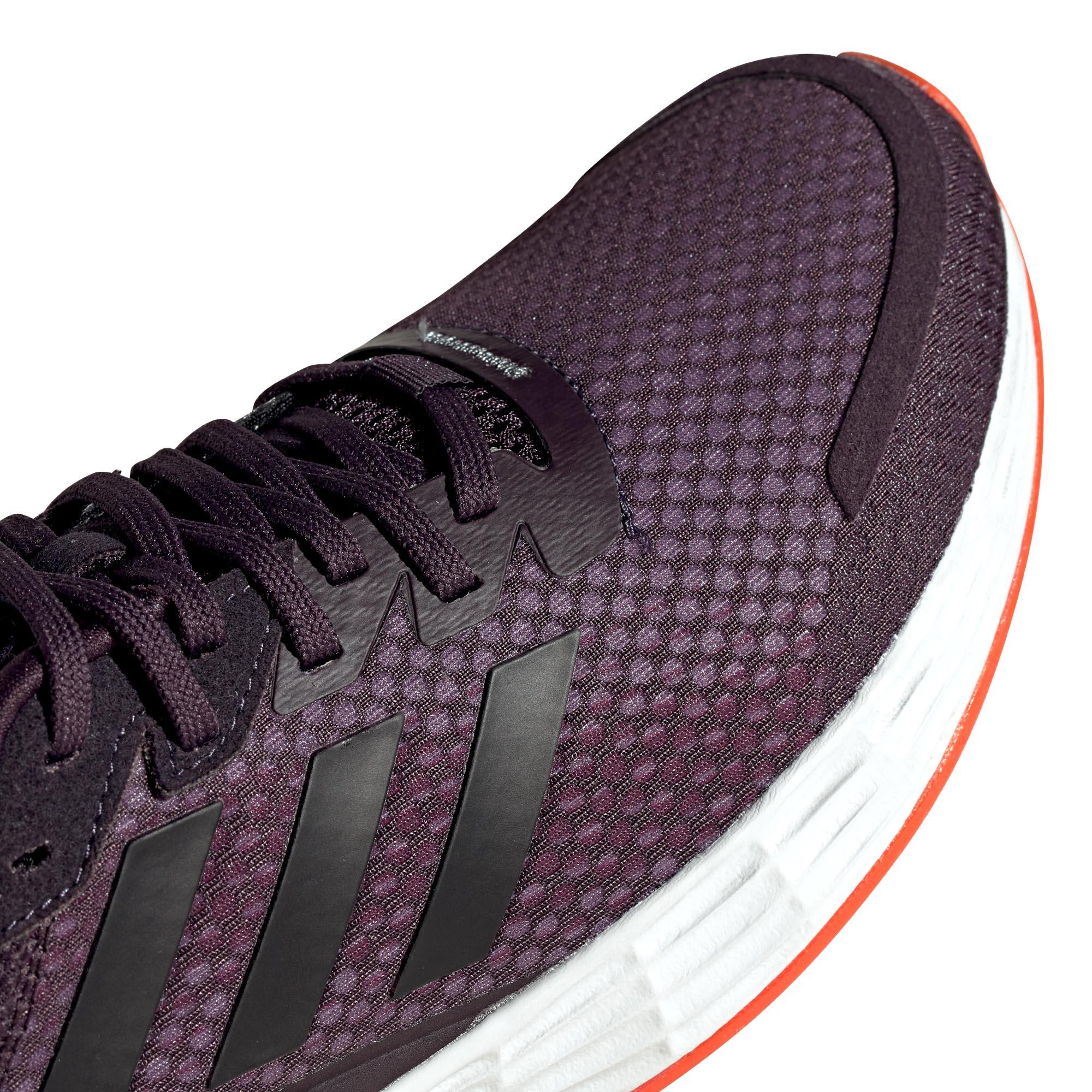 miniature 9 - Adidas Duramo SL Femme Running Fitness Sneaker Chaussure Violet/Noir/Blanc