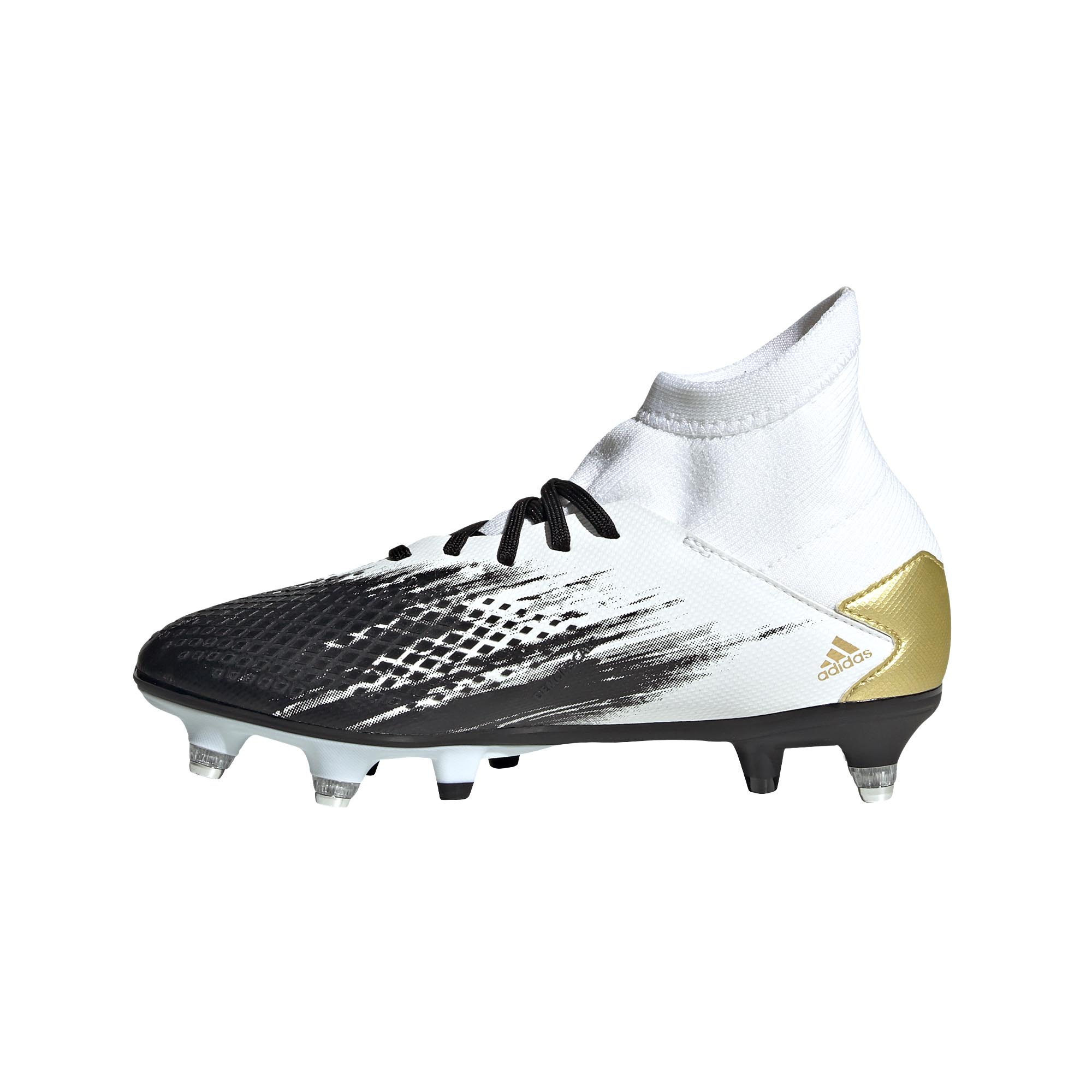 Adidas-Predator-20-3-SG-Soft-Ground-Junior-Enfants-Football-Boot-Inflight-Blanc miniature 8