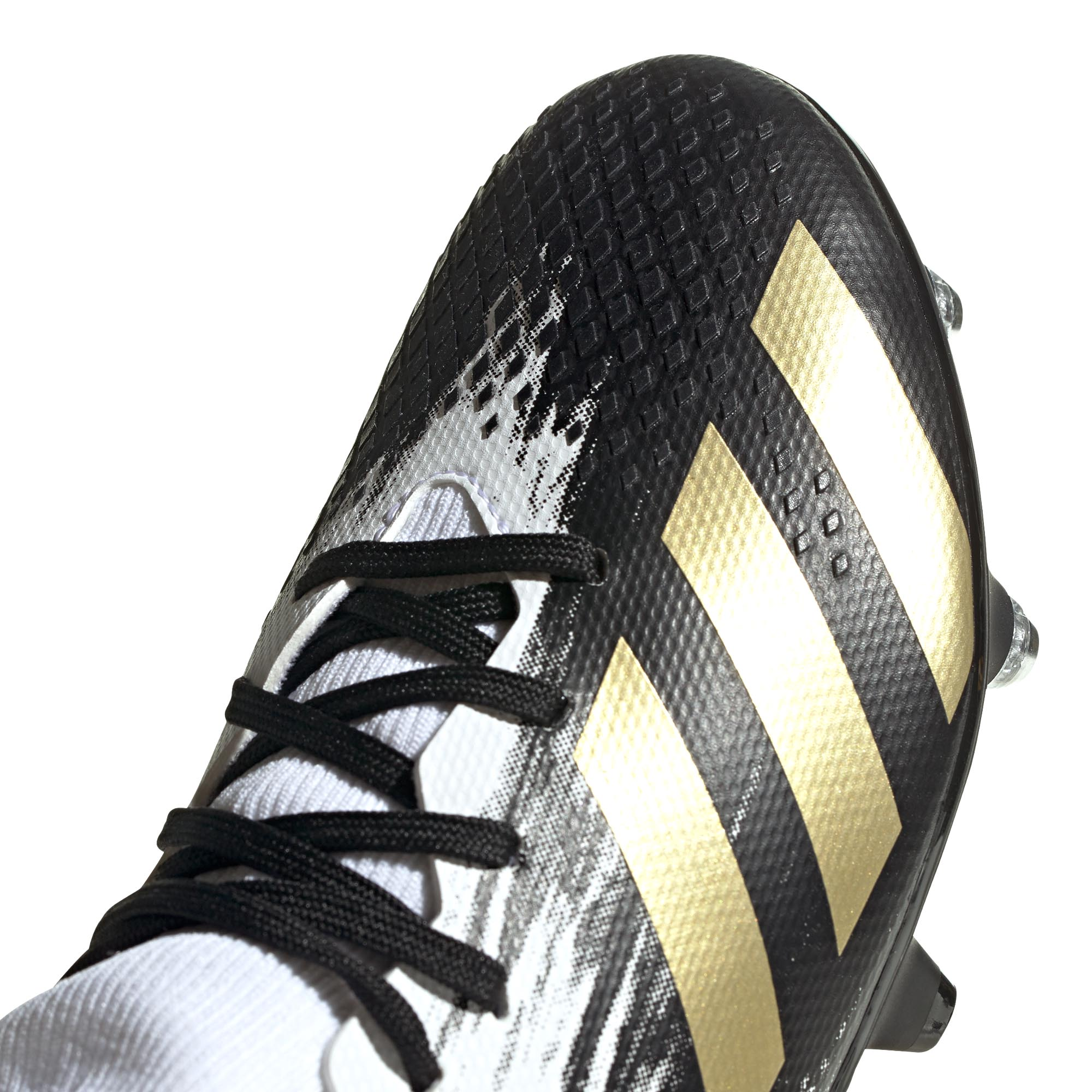 Adidas-Predator-20-3-SG-Soft-Ground-Junior-Enfants-Football-Boot-Inflight-Blanc miniature 9