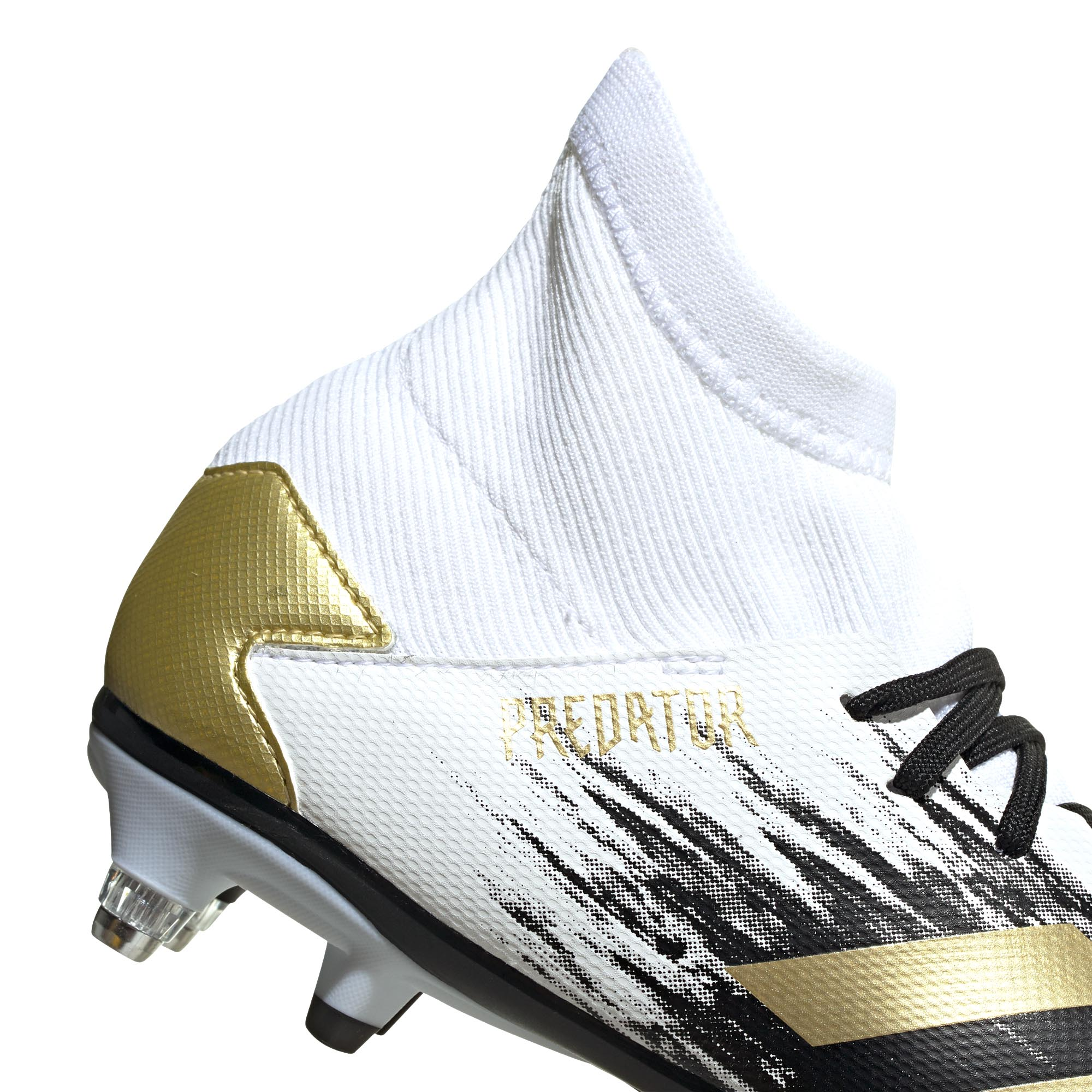 Adidas-Predator-20-3-SG-Soft-Ground-Junior-Enfants-Football-Boot-Inflight-Blanc miniature 10