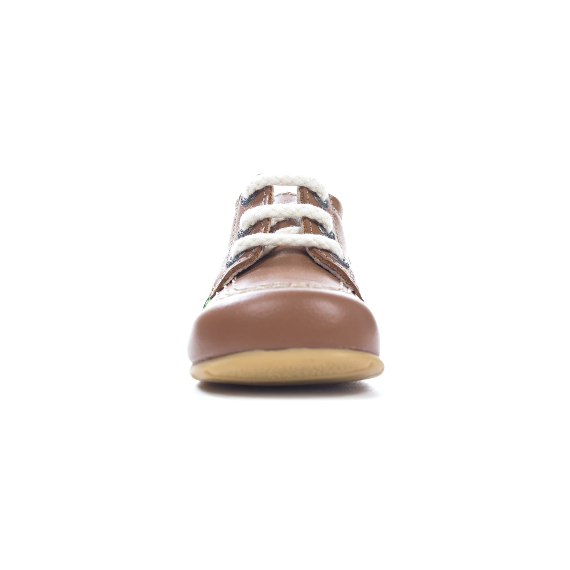 63daaf0363f44 Kickers calci Ciao Baby classico cuoio Toddler Infant Kids scarpe Boot Tan
