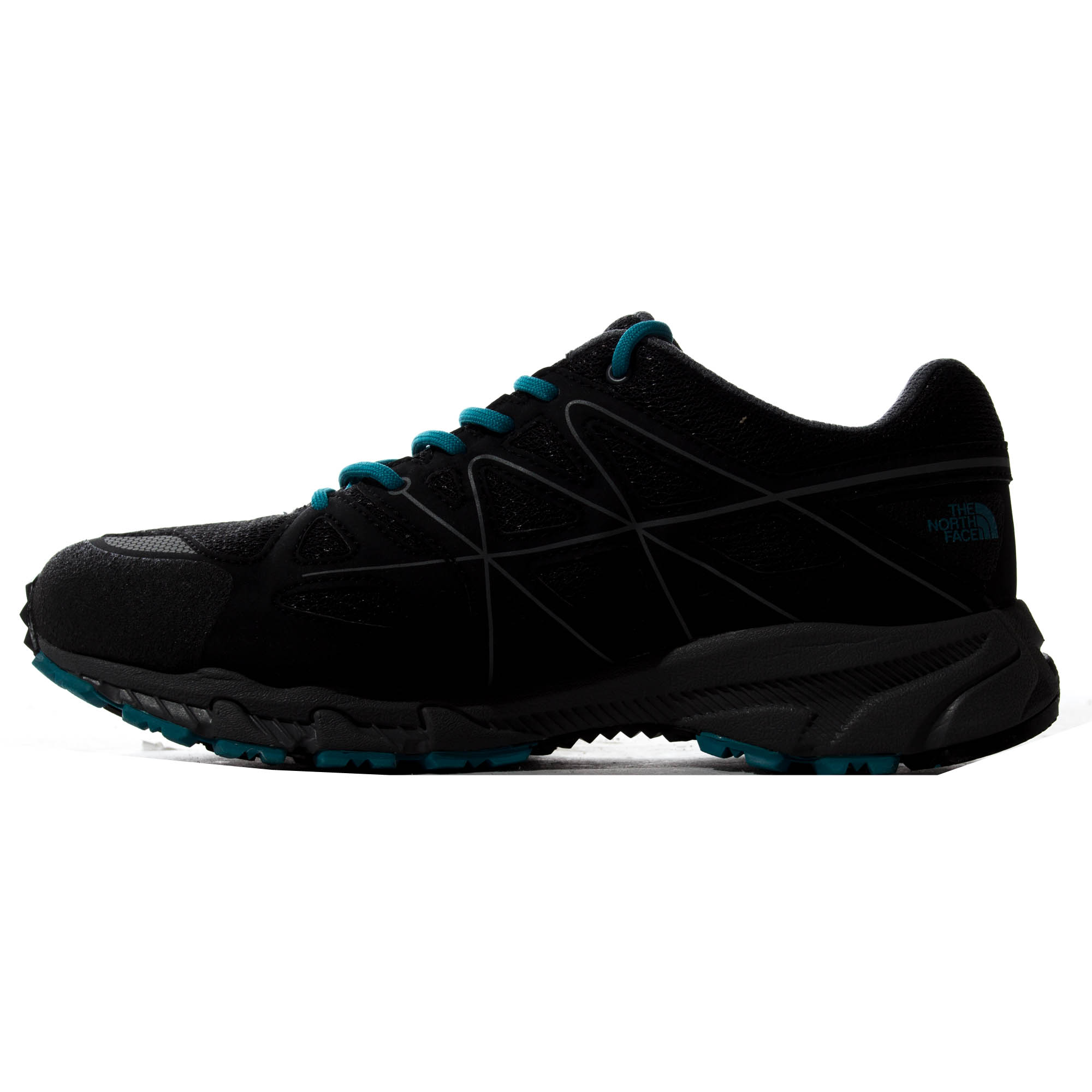 thumbnail 8 - The North Face Storm Gore-Tex Mens Outdoor Walking Hiking Shoe Black/Blue