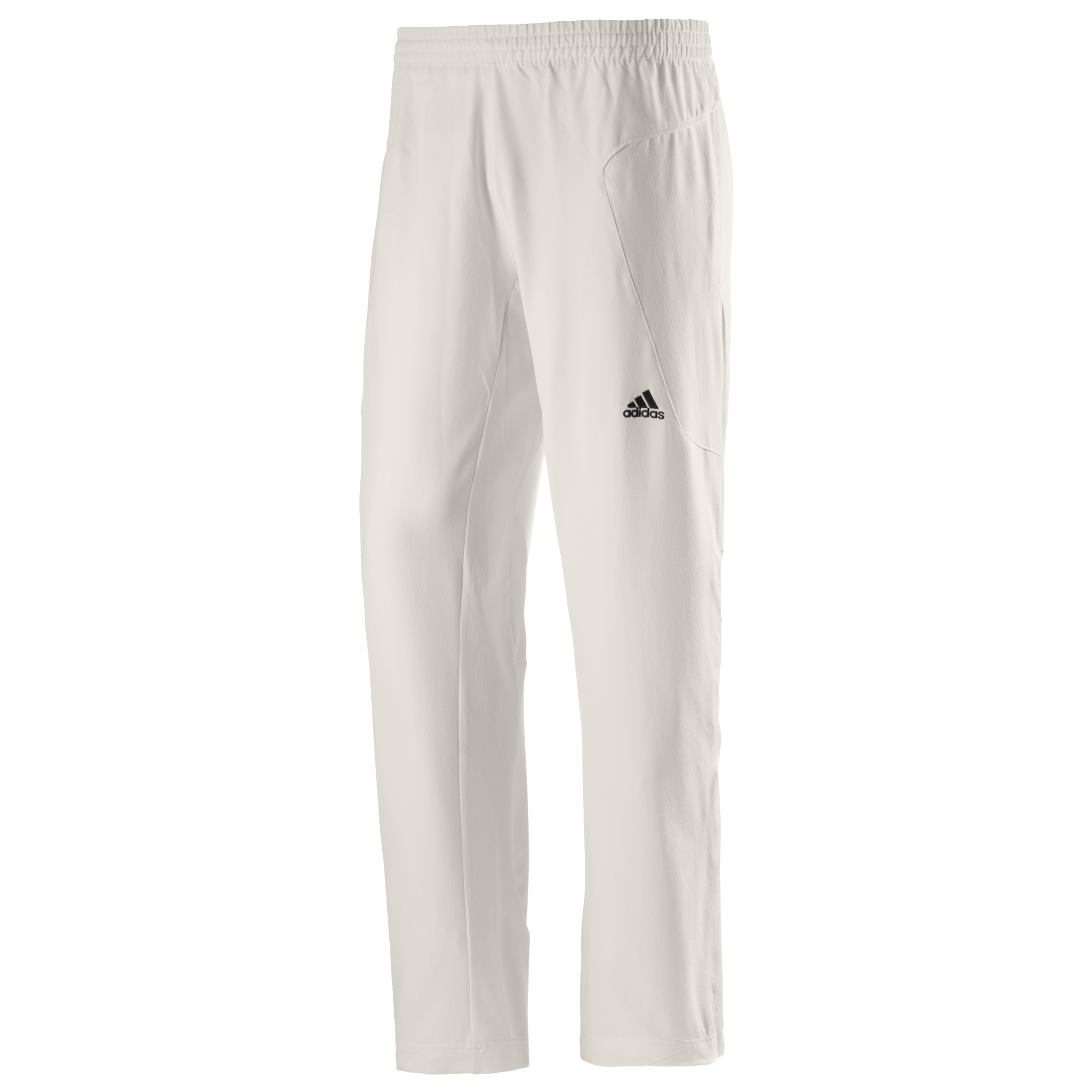 4750aba58f2d1 Details about adidas Mens Cricket Whites Batting Bowling Fielding Pant  Trouser White