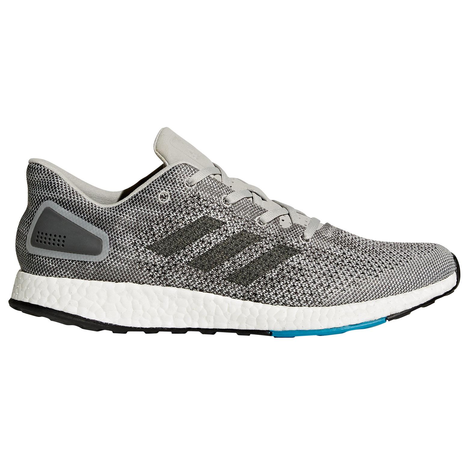 Adidas Pureboost remitidos Hombre Para Correr Fitness Gris Entrenador Zapato Gris Fitness 05edd1