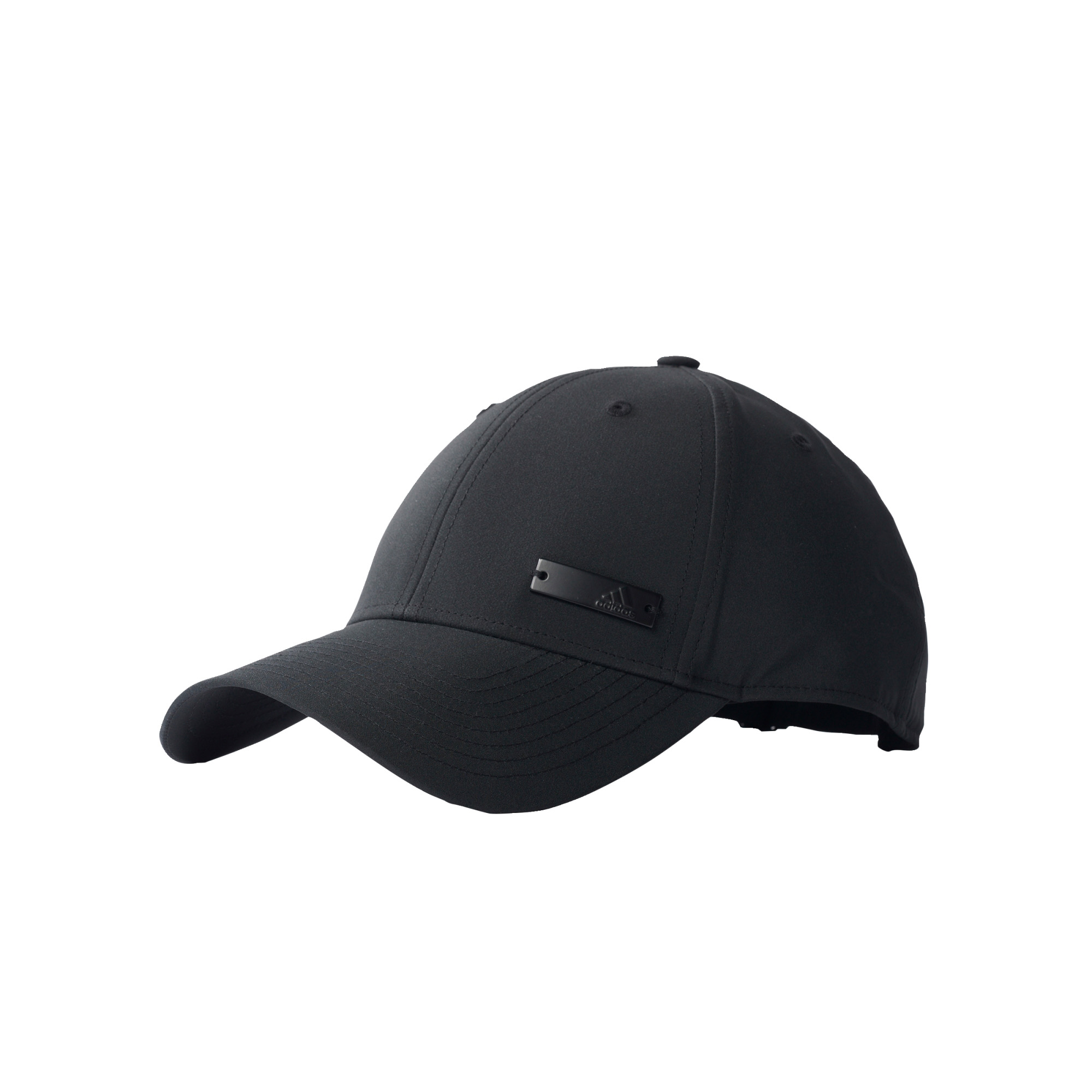 Details about adidas Metal Logo Mens Kids Lightweight Baseball Cap Hat  Black - Child 43e193cdabe