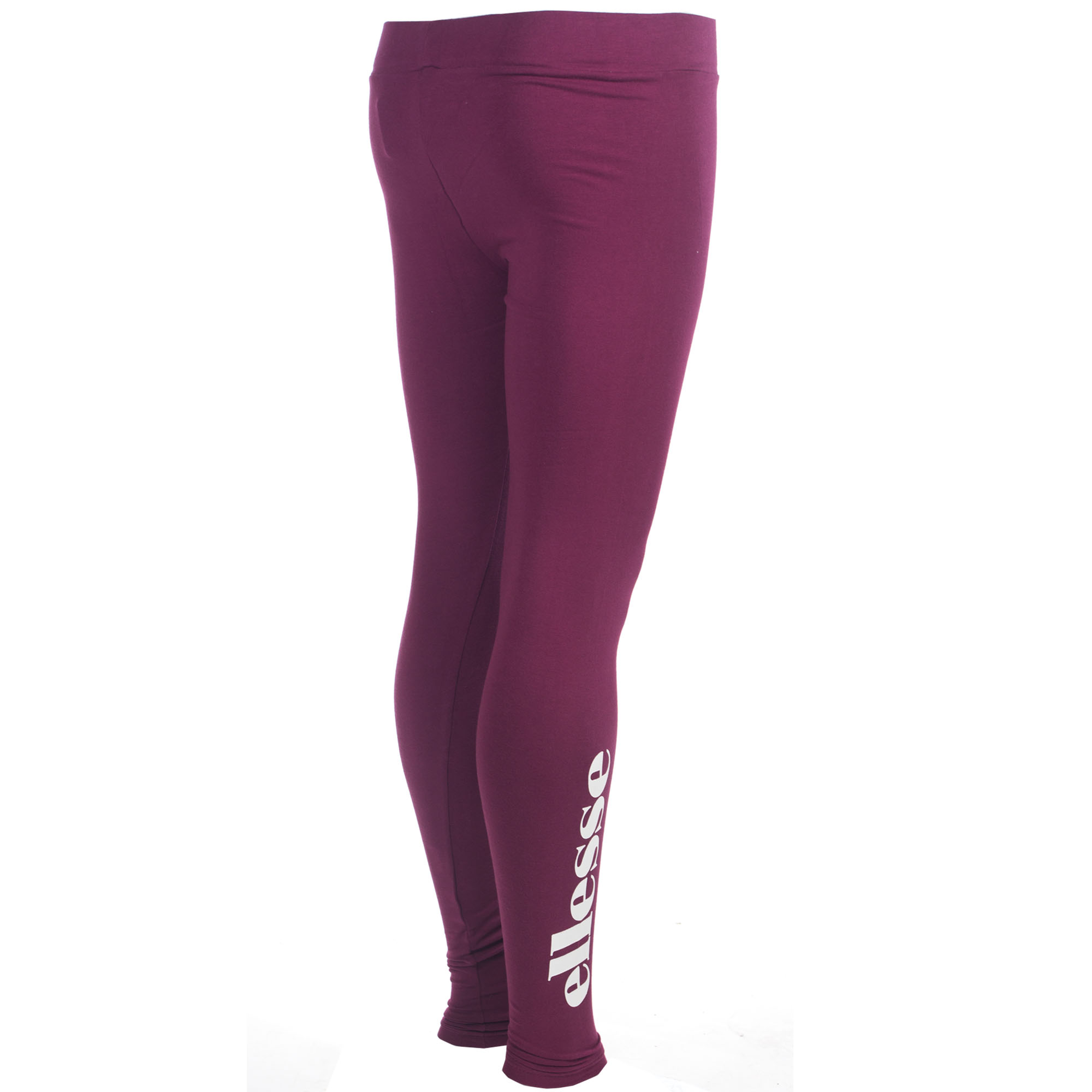 Ellesse Heritage Solos 2 Womens Ladies Fashion Legging Tight Purple ... 110aaad2898