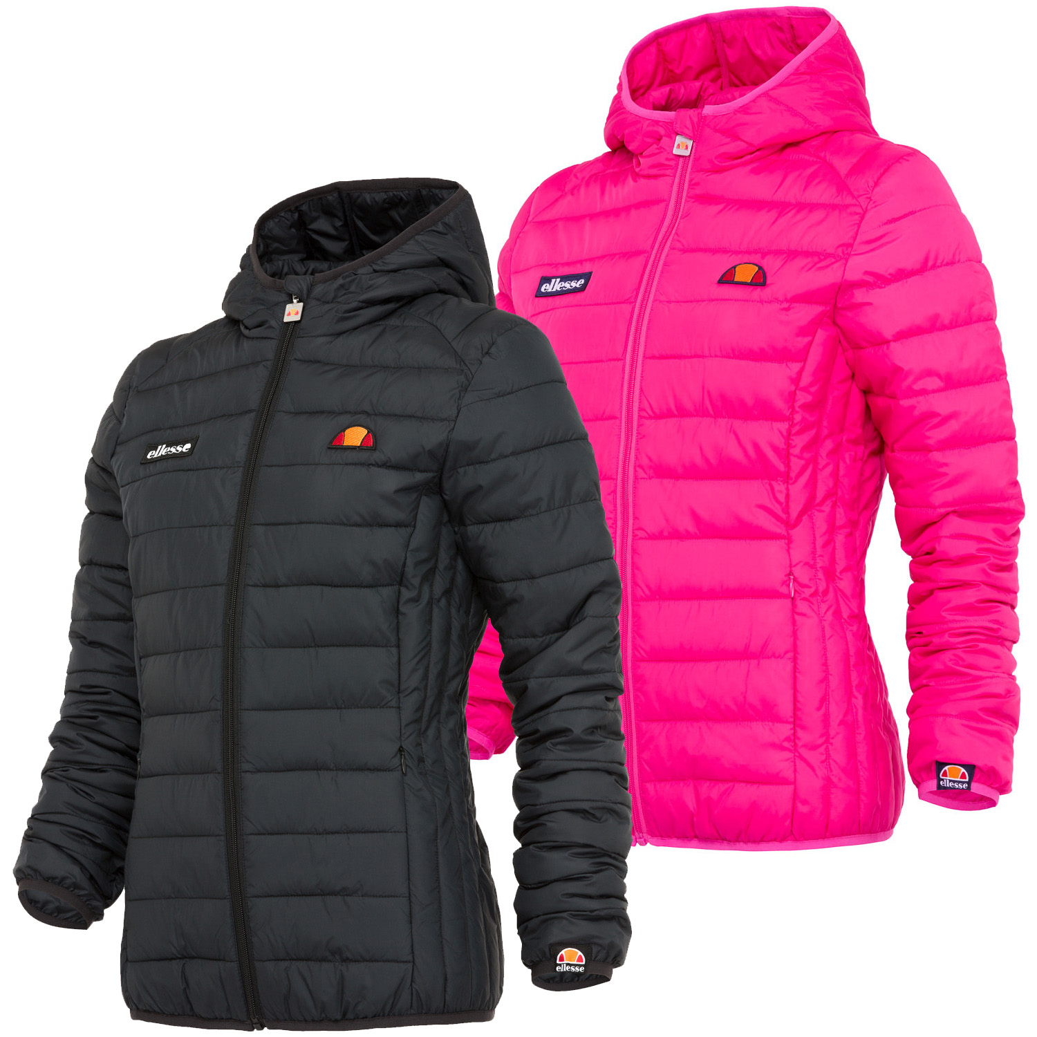 Ellesse Lompard Womens Ladies Padded Quilted Winter Jacket