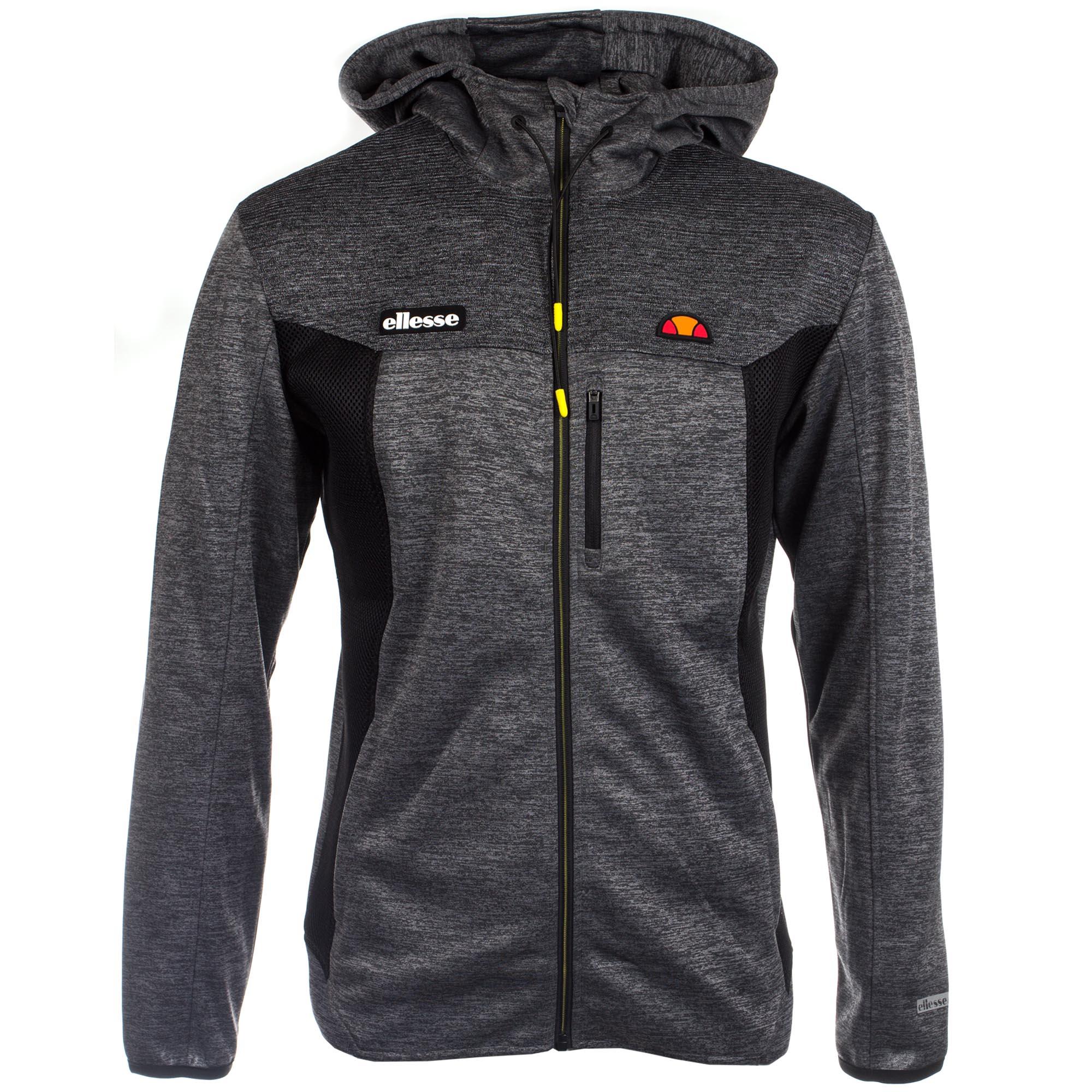 99678e17ae Details about Ellesse Sport Venzio Poly Mens Fashion Full Zip Hoody Hoodie  Jacket