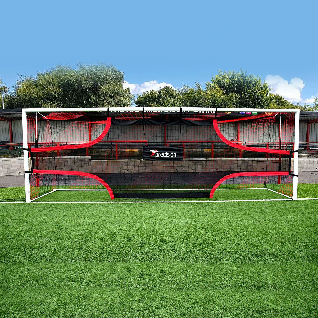 199315b7f97 Details about Precision Training Football Soccer Target Practice Training  Shot Goal Net 12 x6