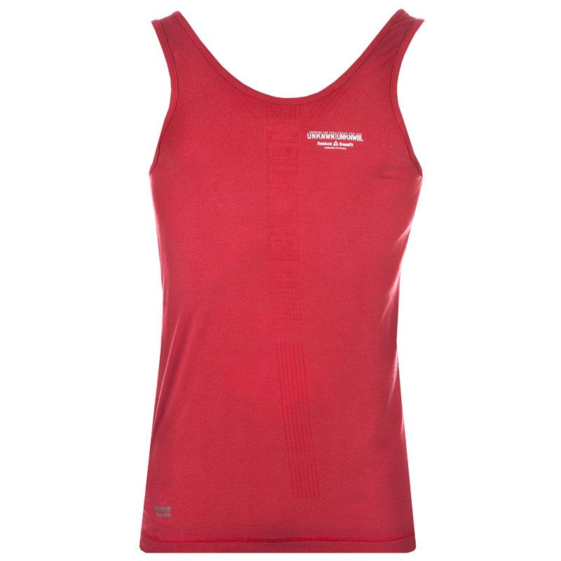 Détails sur Reebok Crossfit Femmes Entraînement Fitness Gym Débardeur Rouge UK 16 18