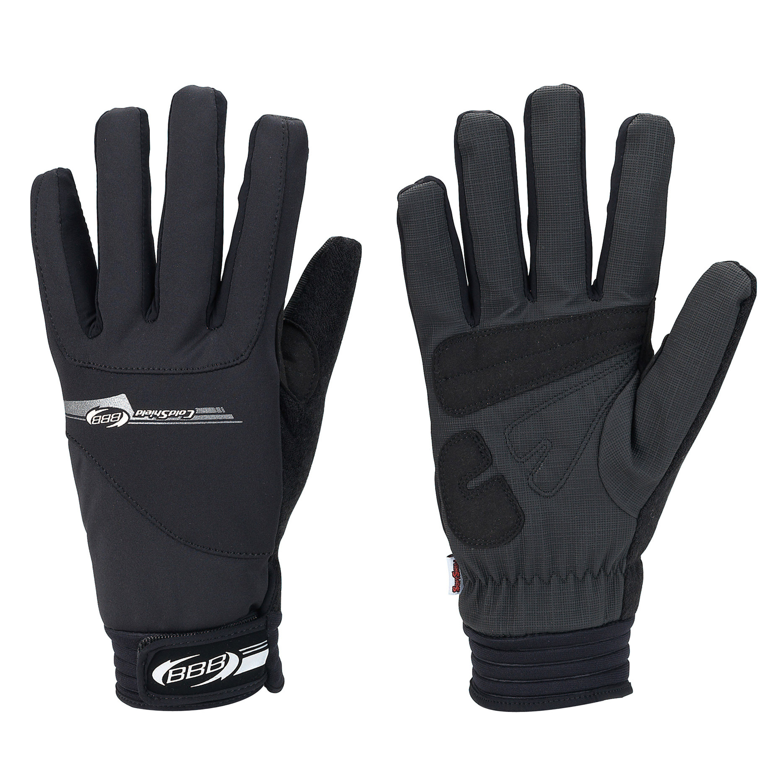 new arrivals more photos exquisite style BBB ColdShield Winter Cycling Gloves Black XL