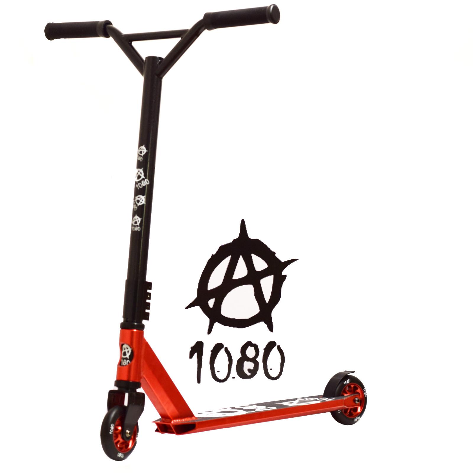 1080 jury stunt scooter alloy custom deck 100mm wheels ebay. Black Bedroom Furniture Sets. Home Design Ideas