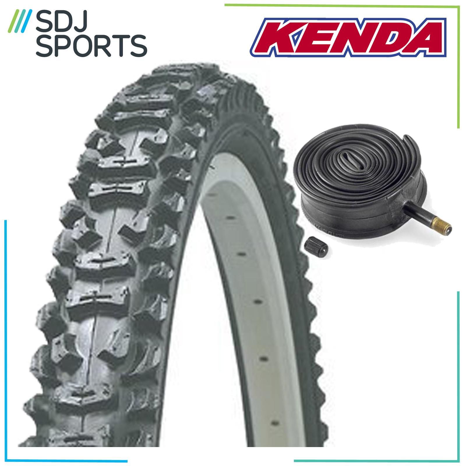 """1X Kenda Smoke 26"""" X 1.95 Knobbly Mountain Bike Mtb Tire W/"""