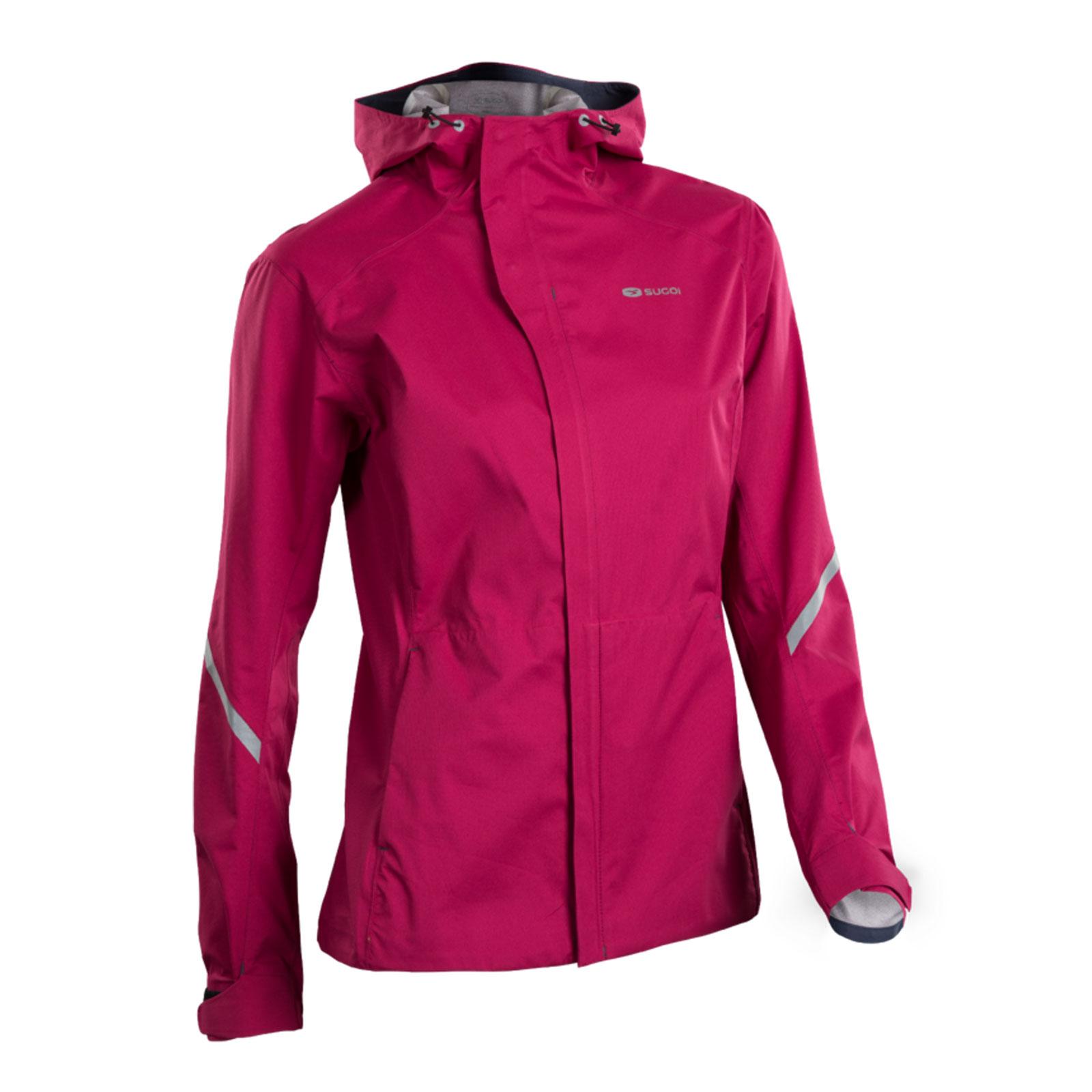 SUGOI Metro Waterproof Running Jacket With Hood Womens Purple M ...