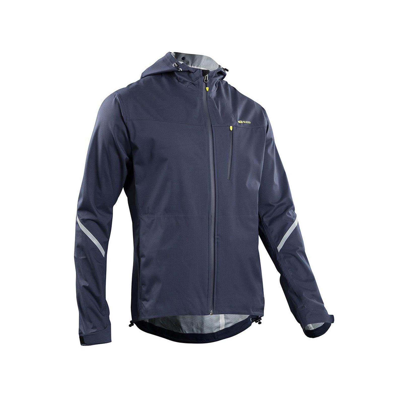 SUGOI Metro Waterproof Running Jacket With Hood Mens Blue XL | eBay