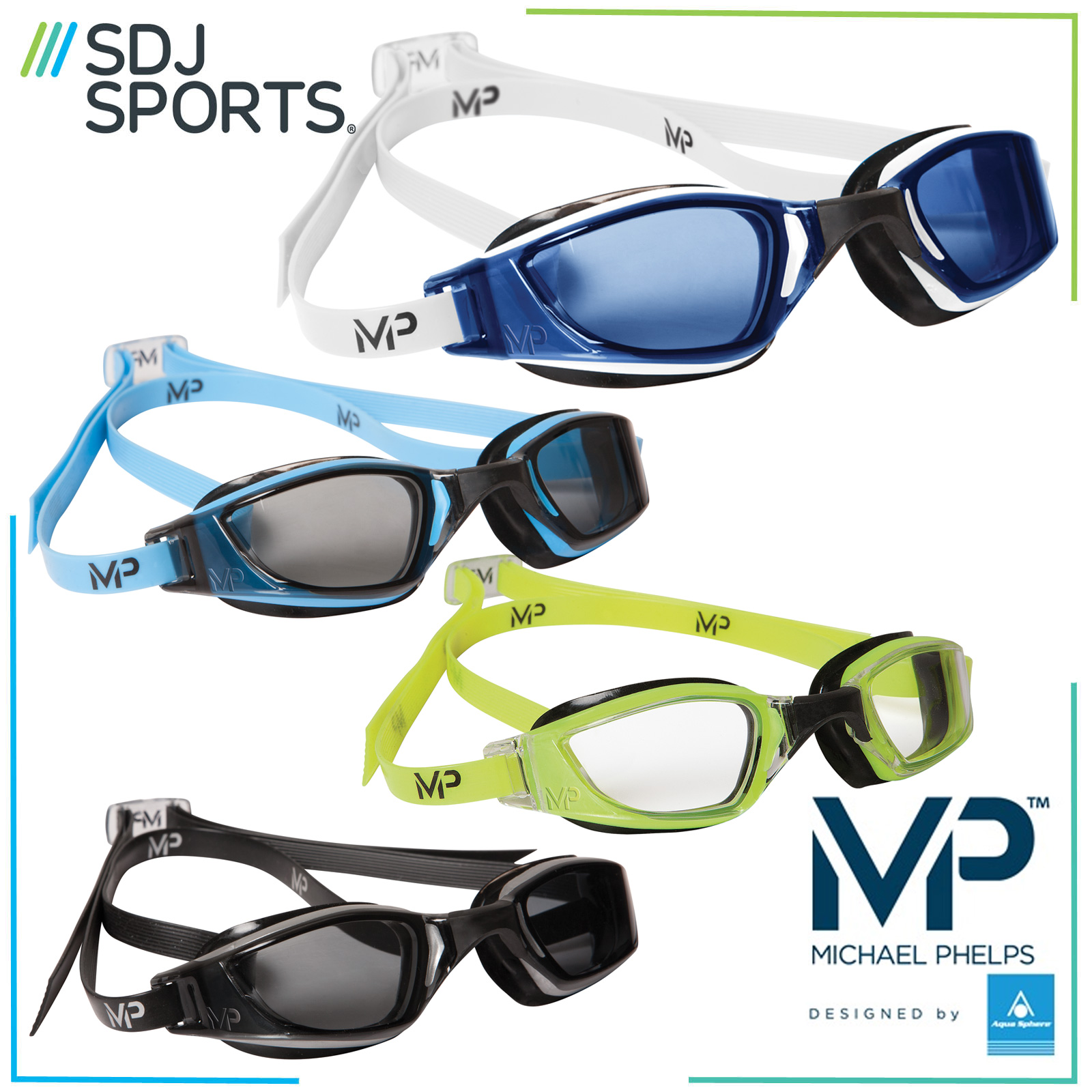 cb362351e0c Michael Phelps Mp Xceed Competition Racing Swimming Goggles ...