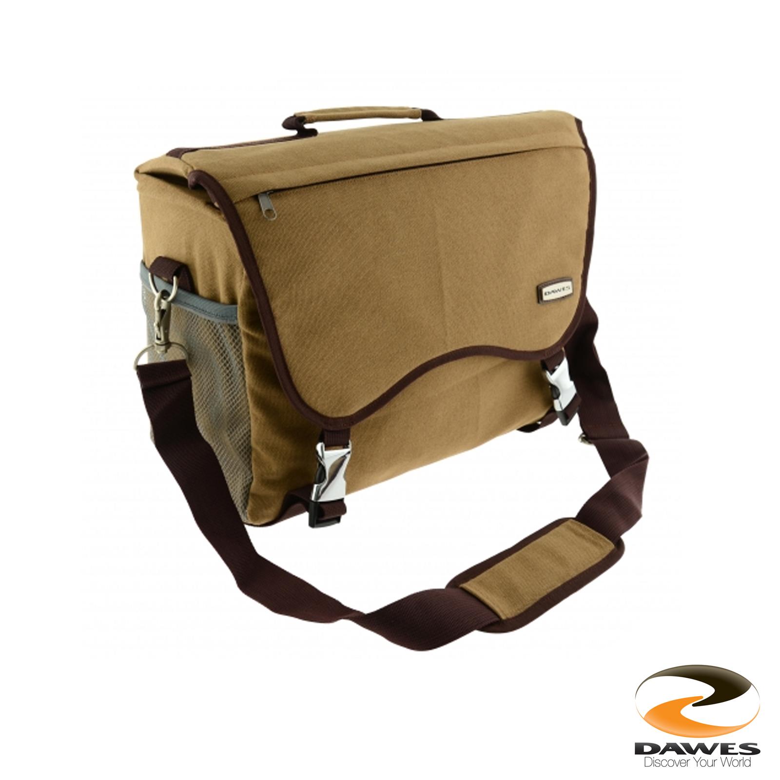 Dawes Traditional Heritage Canvas Bag Saddle Rucksack