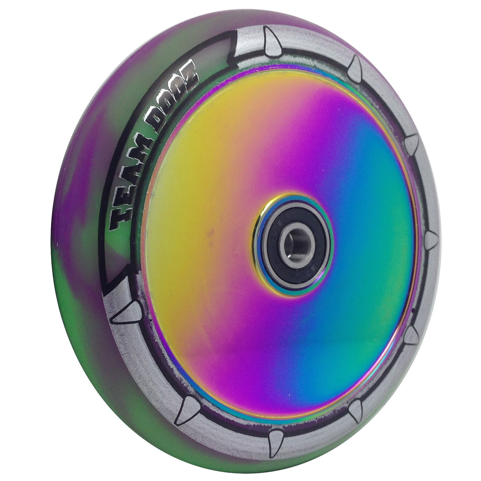 Team Team Team Dogz Hollow Core Scooter Wheel 120Mm 0861f0