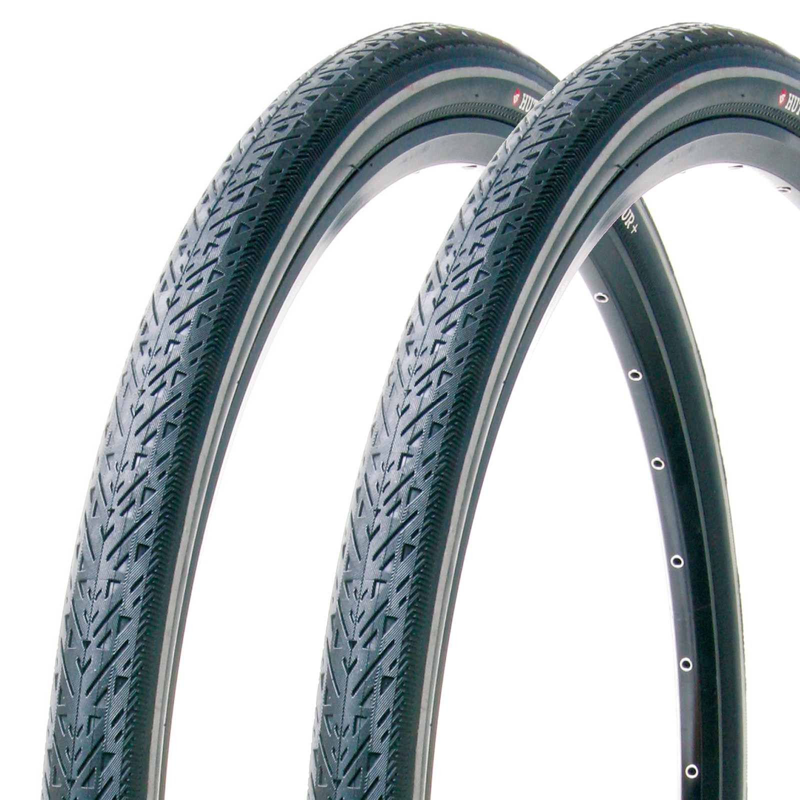 700C-City-Bike-Tyres-amp-Schrader-Tubes-Hutchinson-Urban-Tour-700-X-35C-Pair thumbnail 2