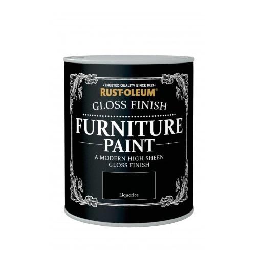 Rust Oleum Gloss Furniture Paint 750ml 125ml Chic Shabby